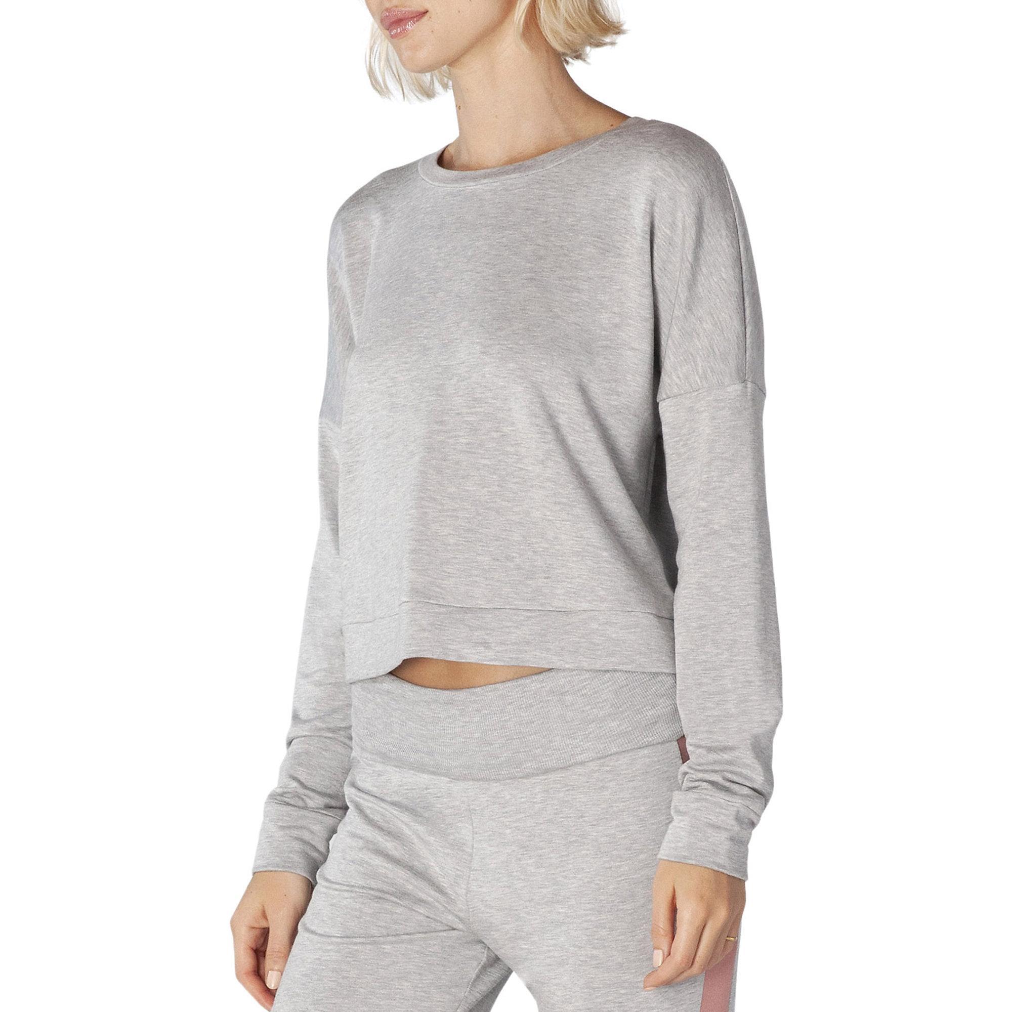Beyond Yoga Color Streak Cropped Pullover Crop Top