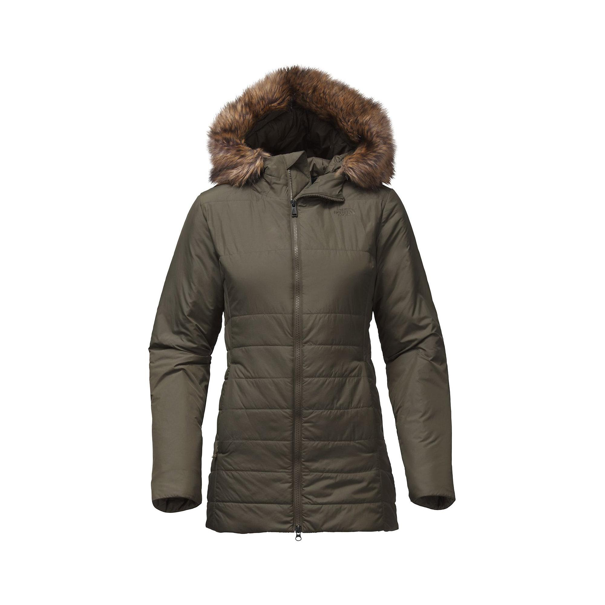 The North Face Harway Insulated Parka in Green - Save 5% ...