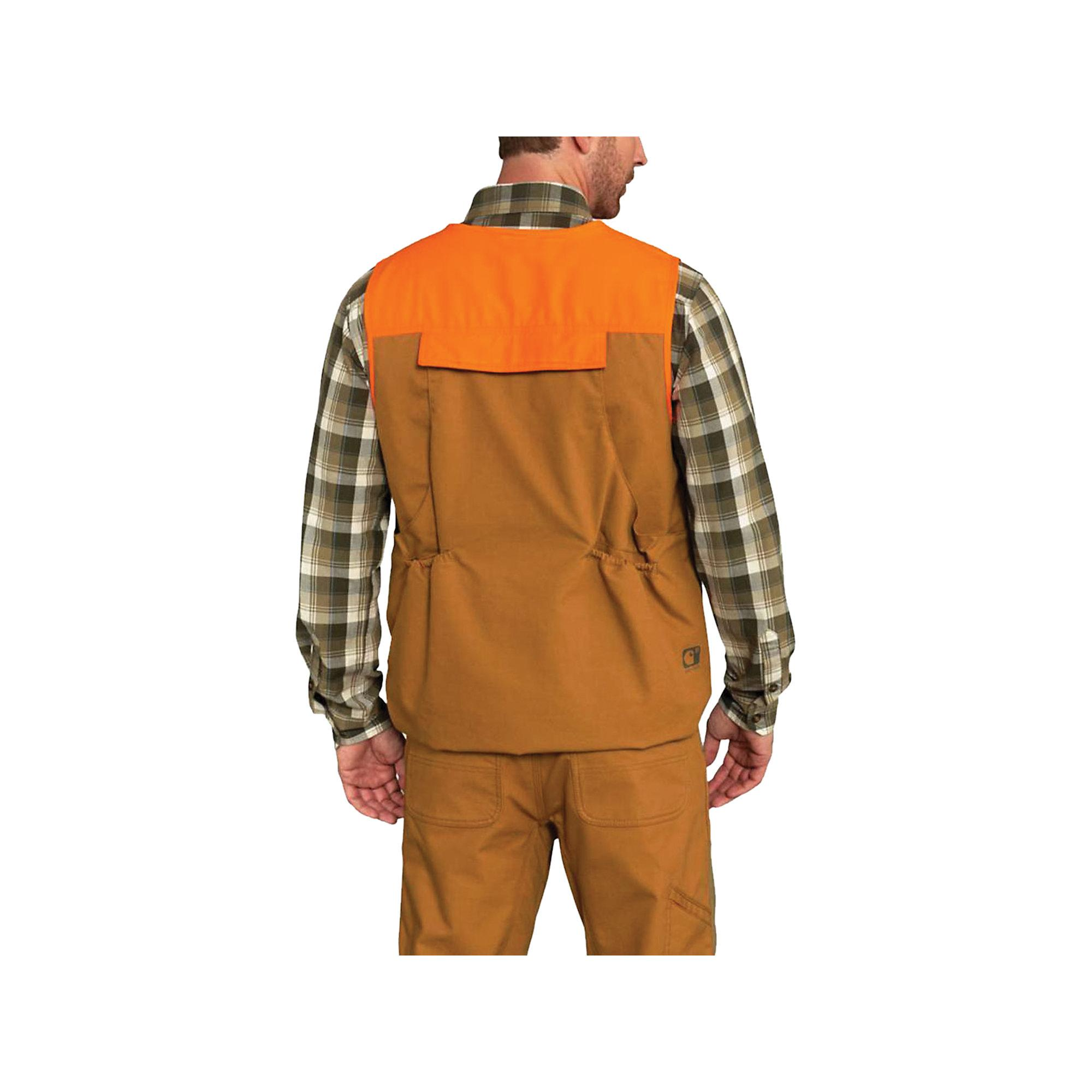 Carhartt Cotton Upland Field Vest In Brown For Men Lyst