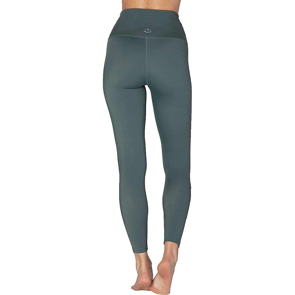 Beyond Yoga Womens Compression Stripe Hype High Waisted Midi Legging