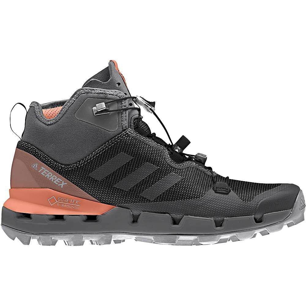 Lyst - Adidas Terrex Fast Mid Gtx Surround Shoe in Black for Men 333a3ba4d