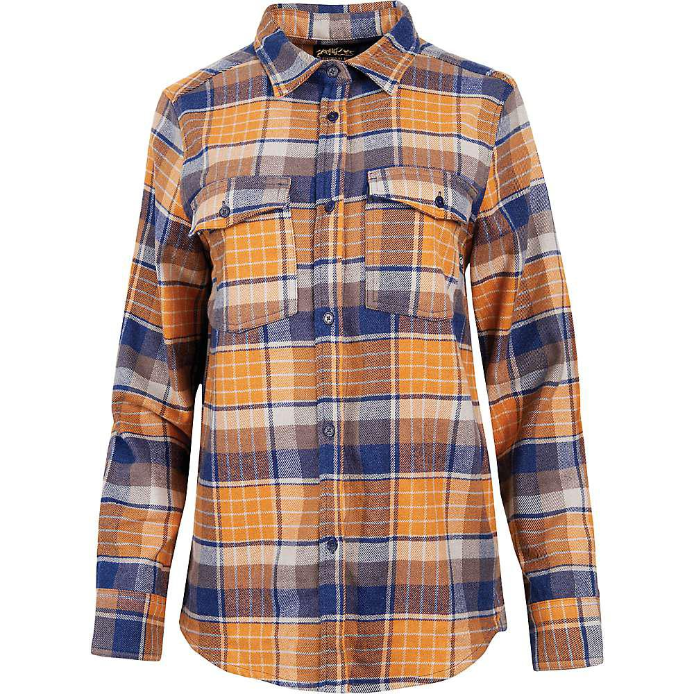 ac44d153 Lyst - United By Blue Fremount Flannel Button Down Shirt in Blue