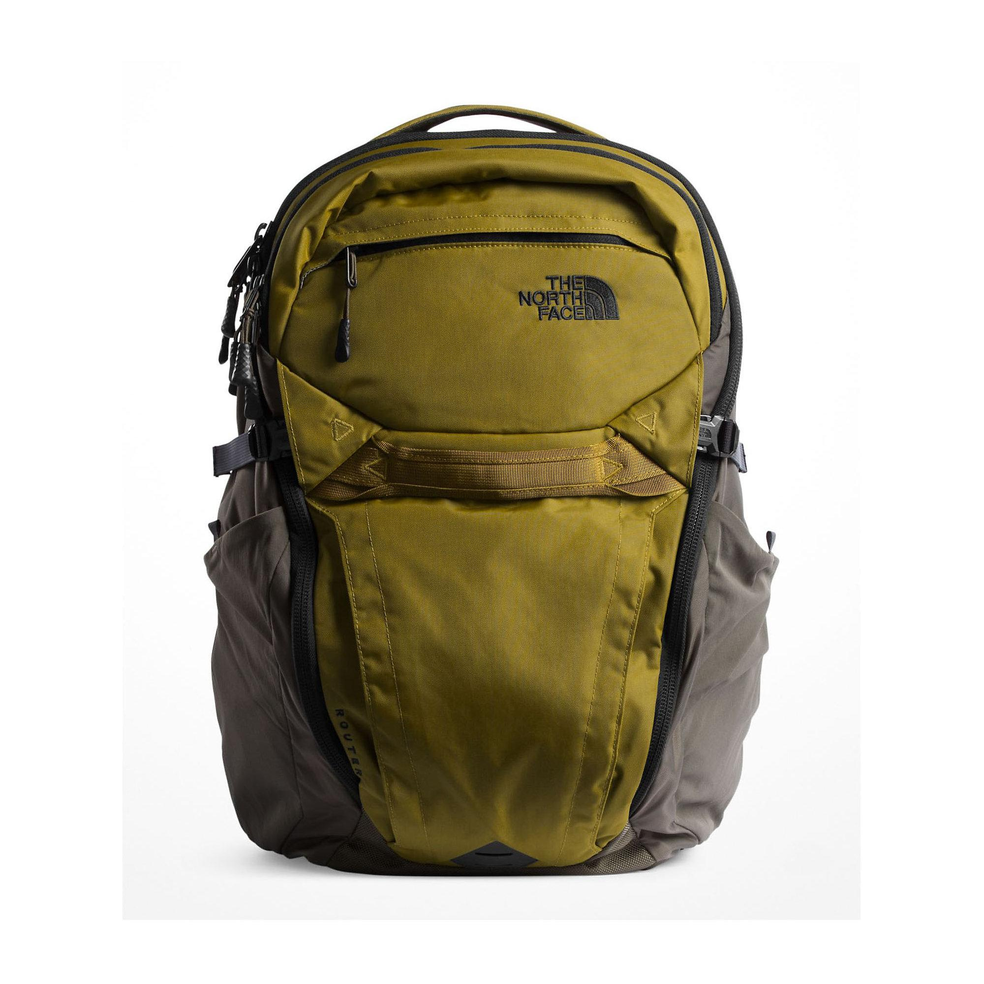 29568ce4a The North Face Router Backpack in Green - Lyst