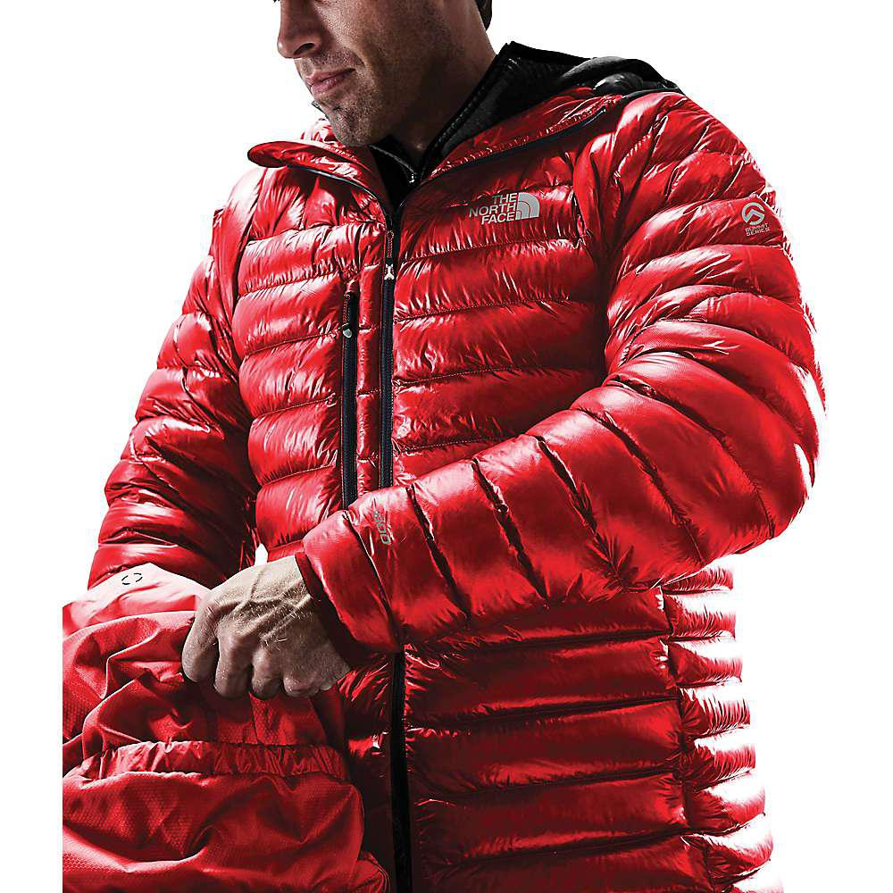 45151cca1d78 The North Face - Red Summit Series L3 Proprius Down Hoodie for Men - Lyst.  View fullscreen