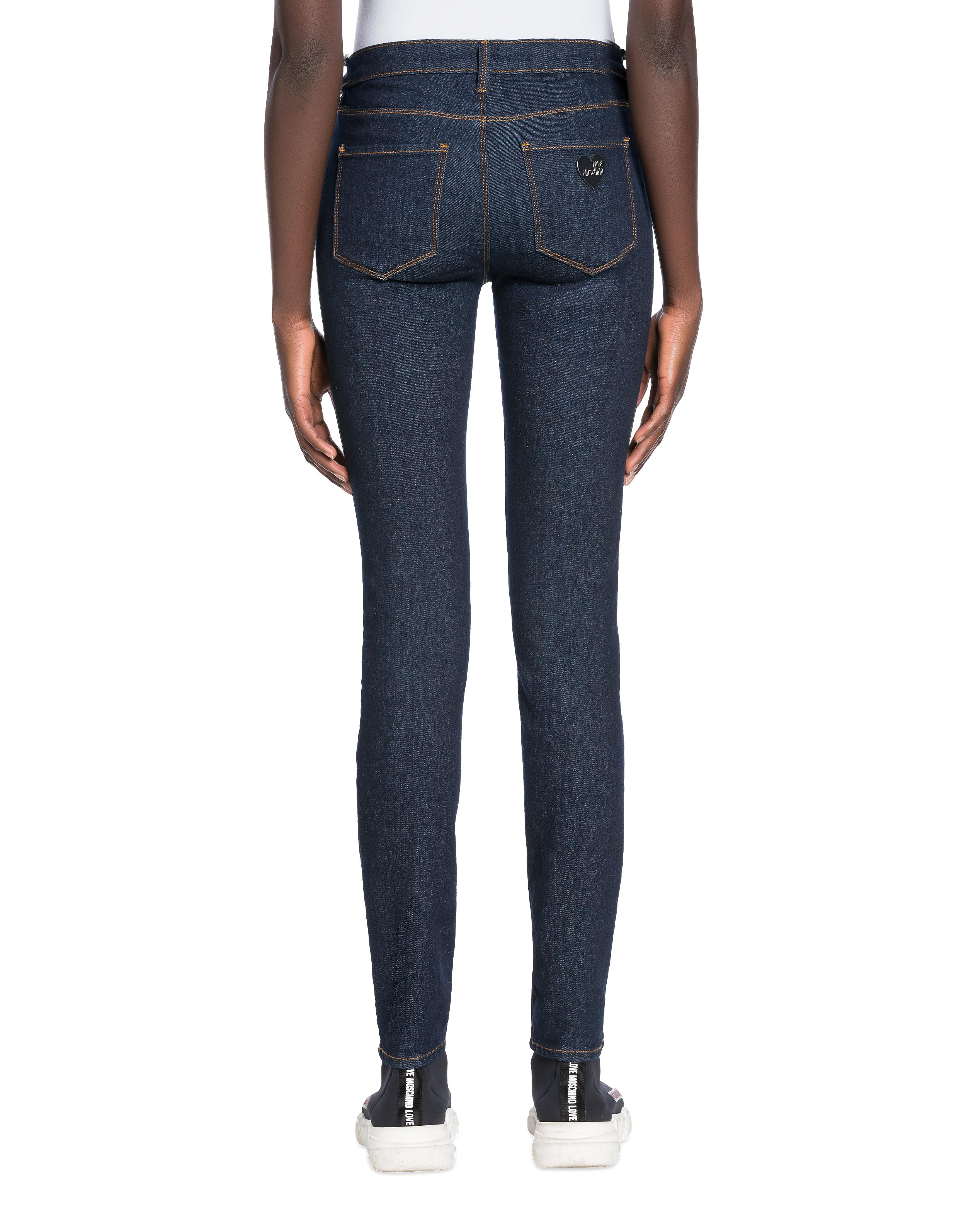 Jeans Stretch Jean Love Moschino en coloris Bleu