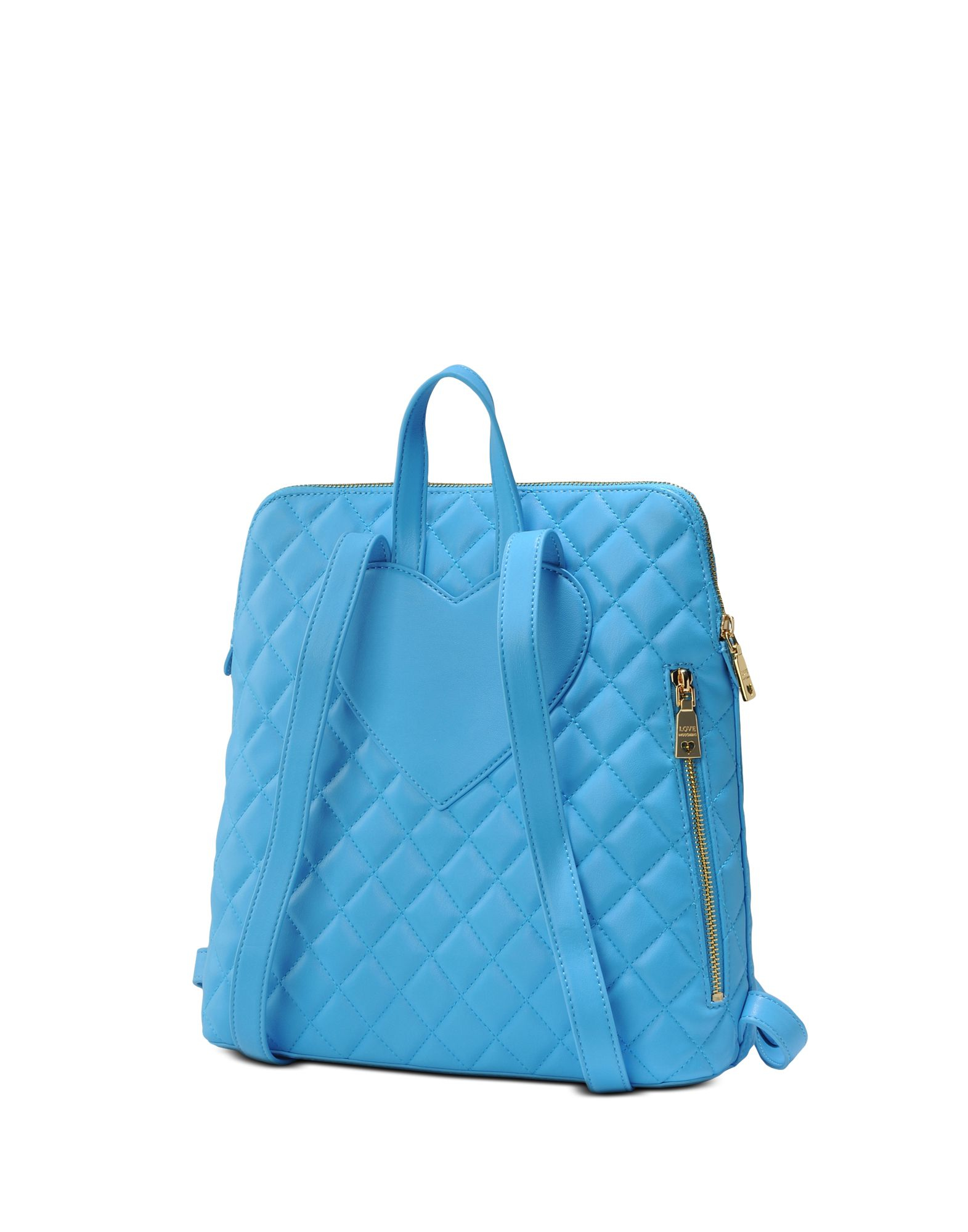 love moschino backpack in blue lyst. Black Bedroom Furniture Sets. Home Design Ideas