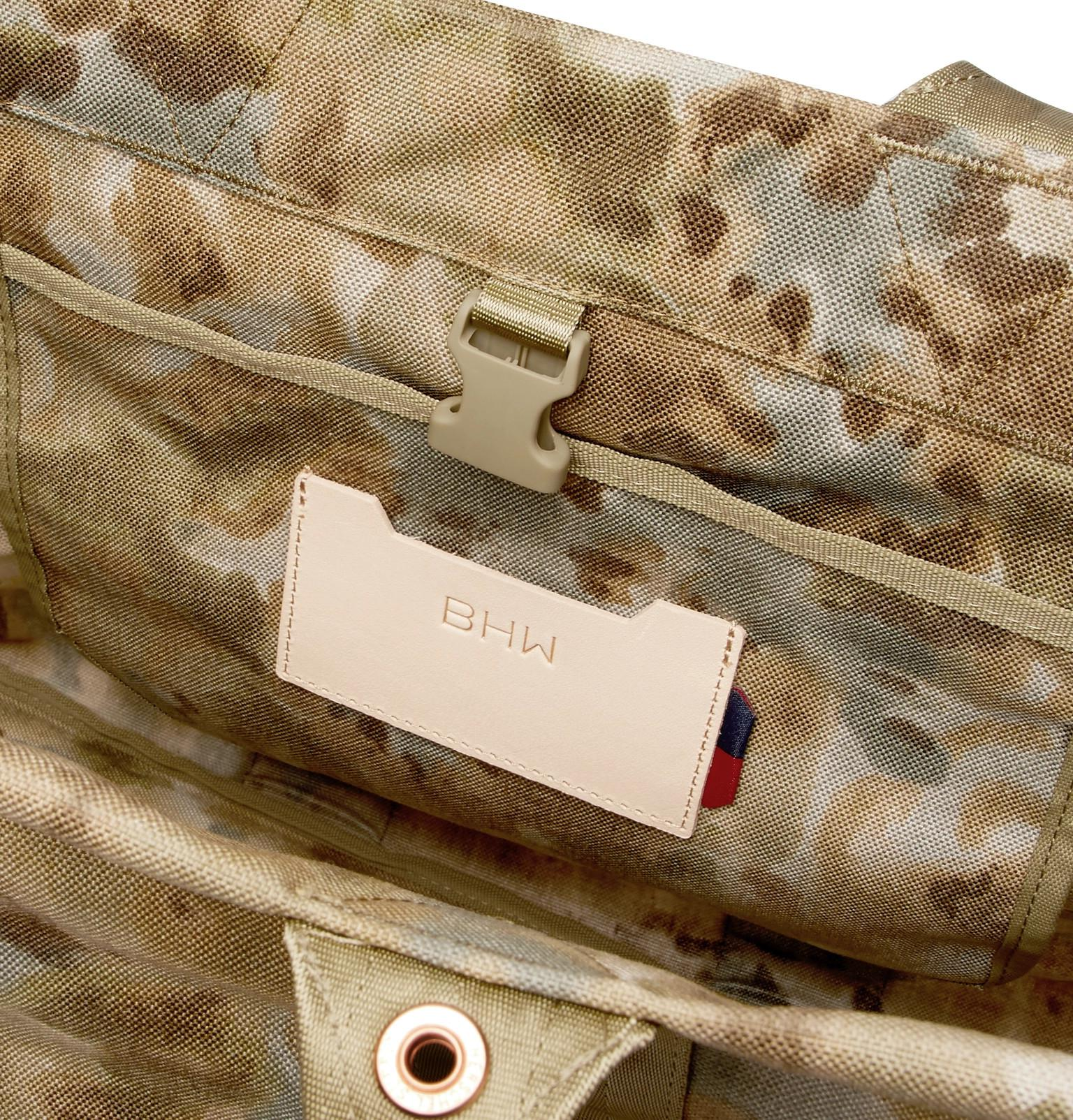 Herschel Supply Co. Synthetic H-445 Camouflage Tuff Stuff Tote Bag in Green for Men