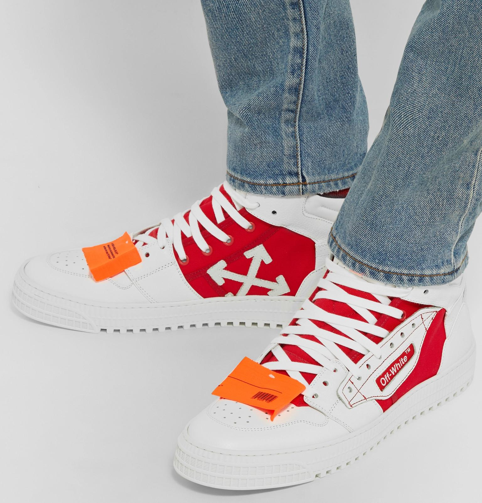 48f8917a403f5 Off-White c o Virgil Abloh 3.0 Off-court Leather