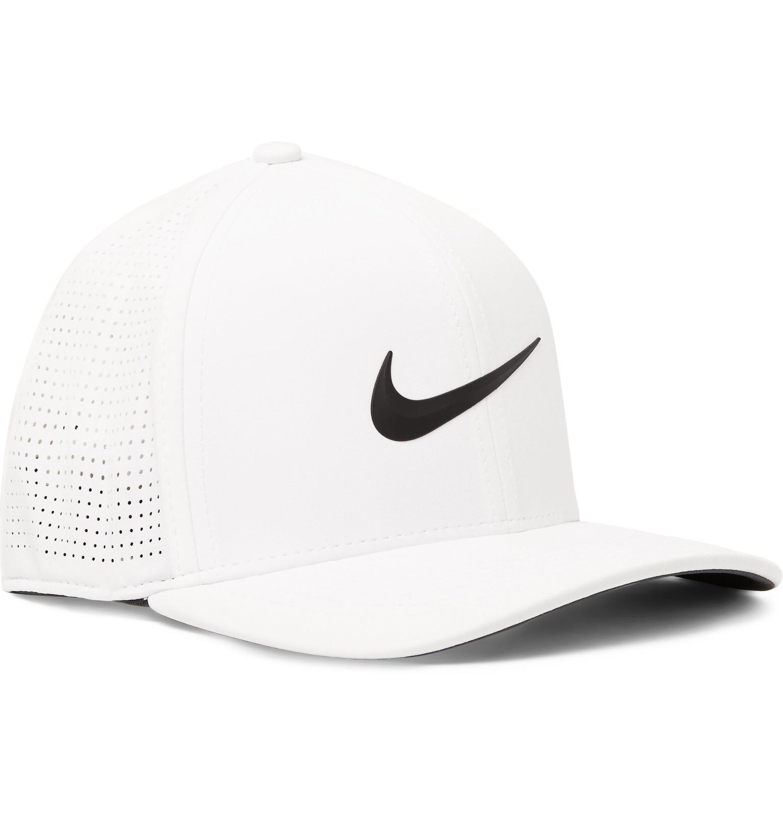 3f0ae00e Nike Aerobill Classic 99 Perforated Dri-fit Golf Cap in White for ...