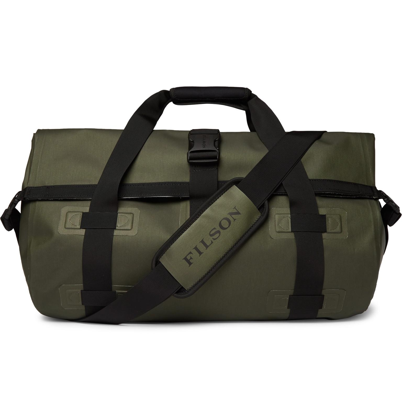 caf3cd5530 Filson - Green Dry Shell Duffle Bag for Men - Lyst. View fullscreen
