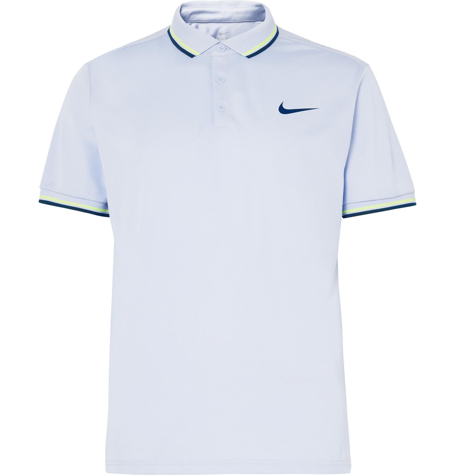 Nike Dri Fit Tennis Polo Shirt Joe Maloy