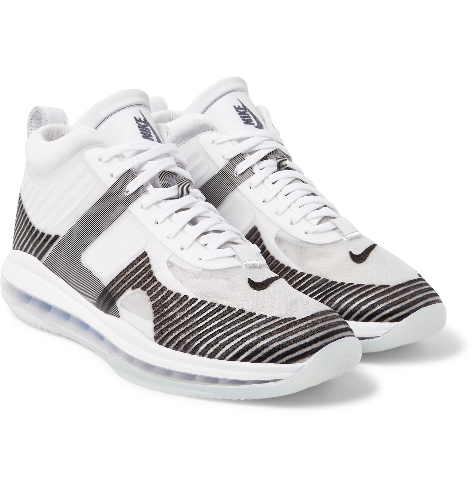 4a6804bd183 ... promo code for nike. mens white lebron james x john elliott icon qs high  top