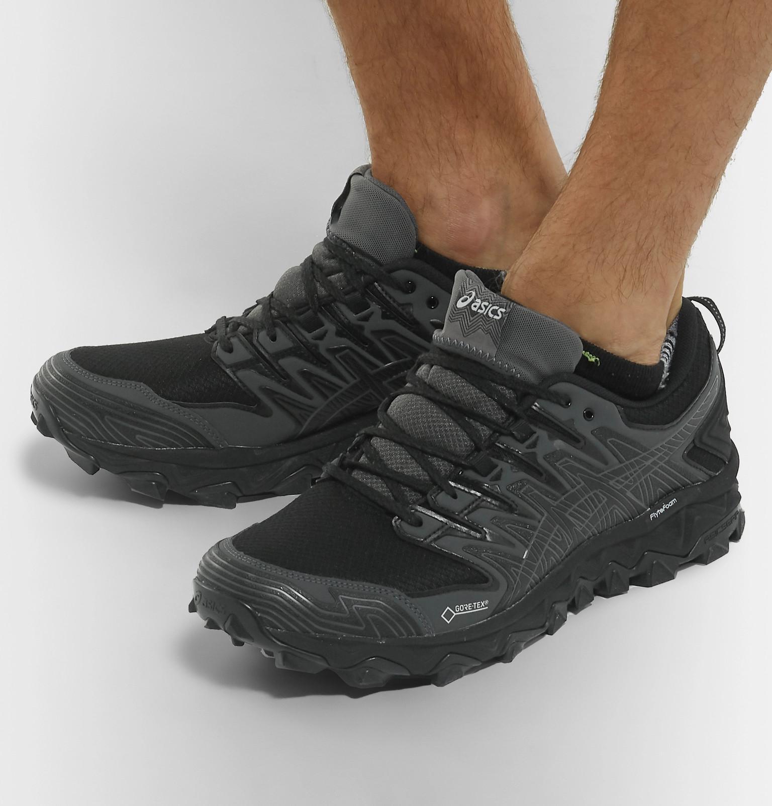 d78a5c23 Asics Black Gel-fujitrabuco 7 Gore-tex Running Sneakers for men