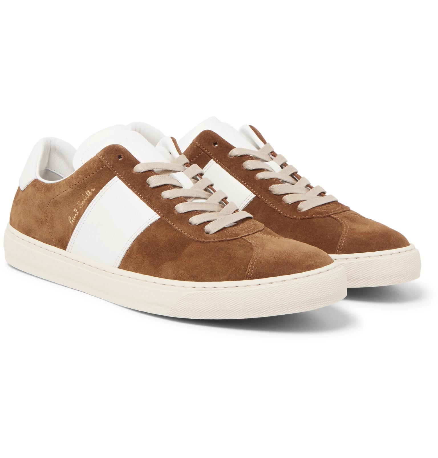Levon low-top suede trainers Paul Smith NMsEGL6D