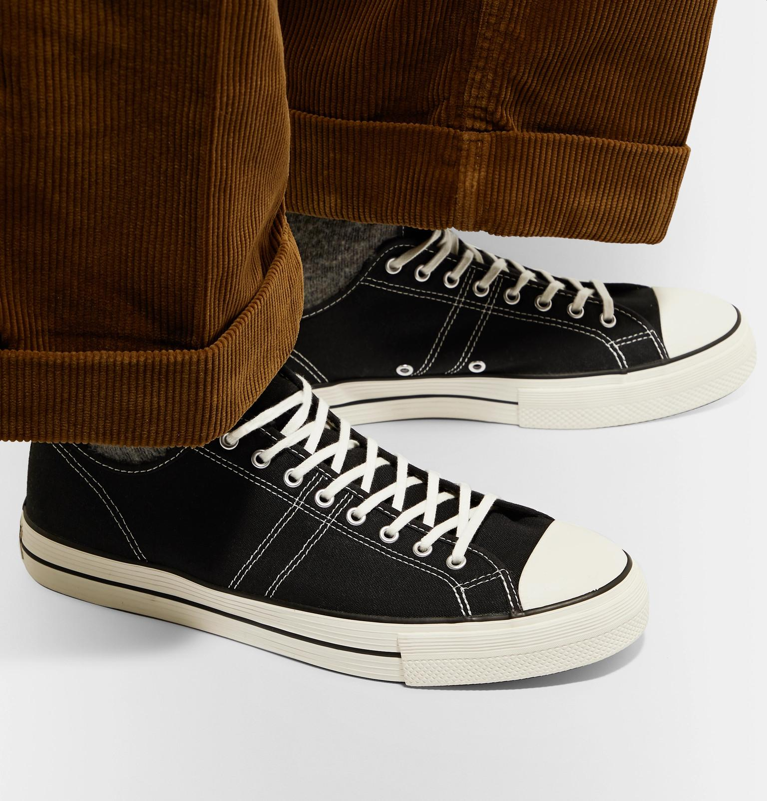 0881c771d6c Converse - Black Lucky Star Ox Canvas Sneakers for Men - Lyst. View  fullscreen
