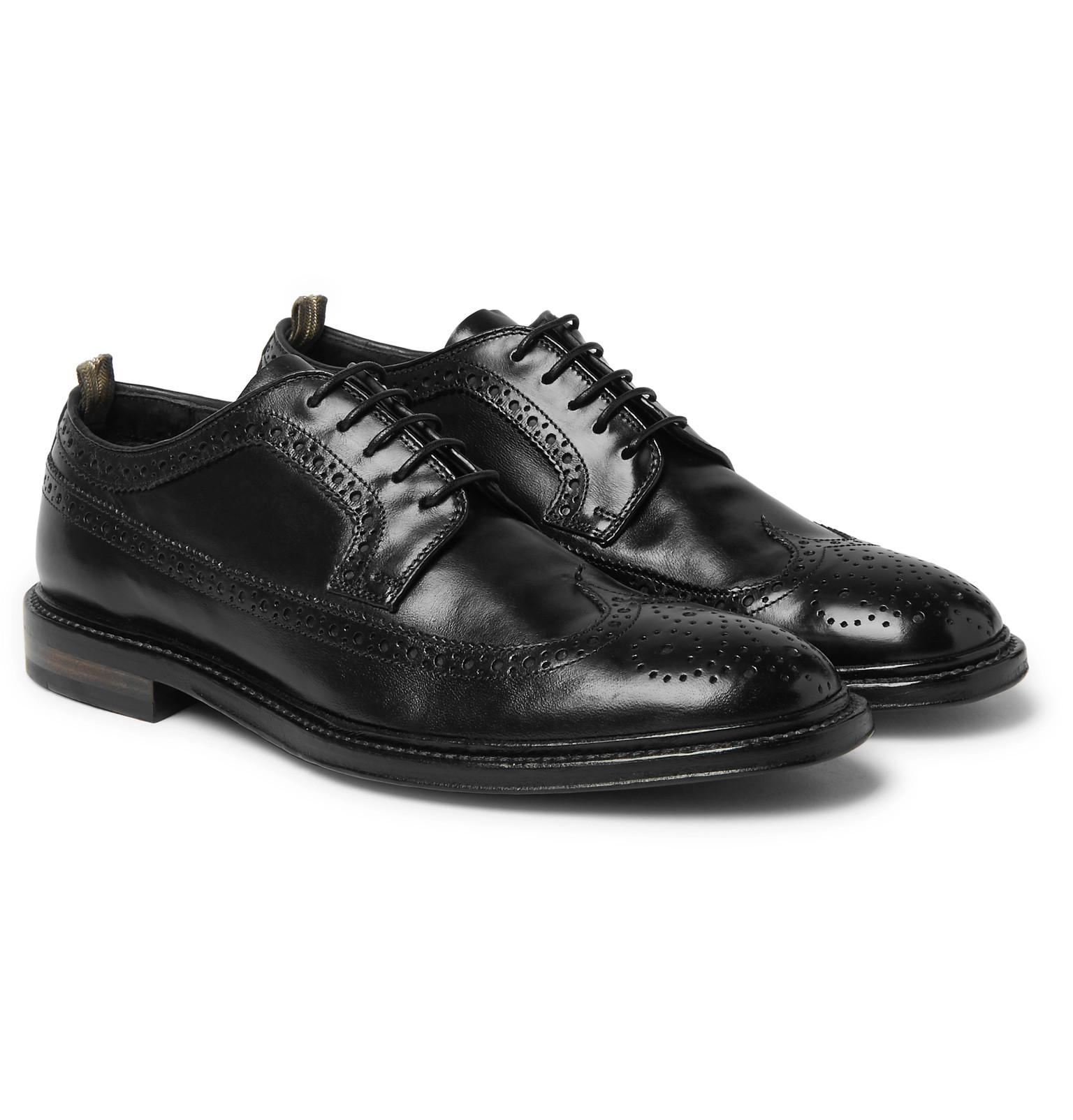 Cornell Polished-leather Wingtip Brogues Officine Creative yDiIk8