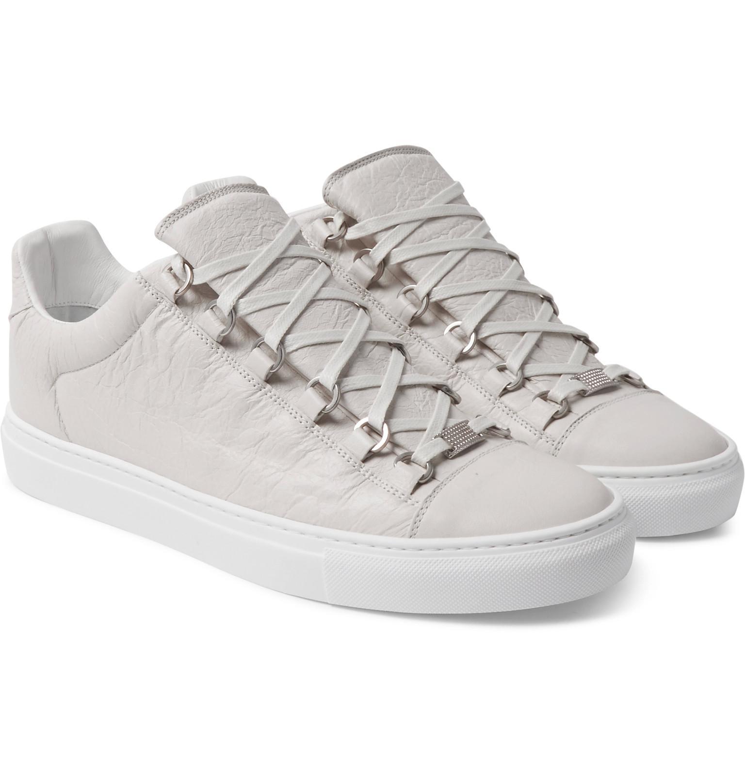 Balenciaga Arena Low-top Leather