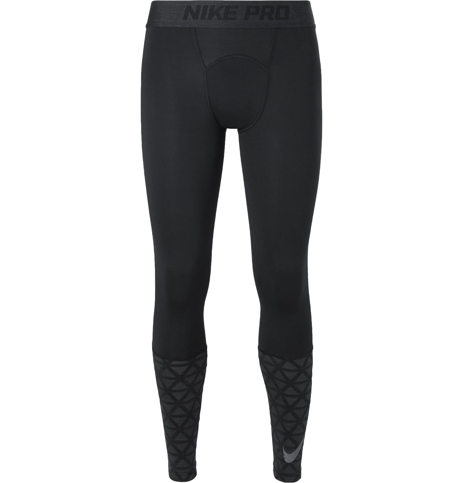 6cc0d74d7f42a Nike Pro Dri-fit Therma Tights in Black for Men - Lyst