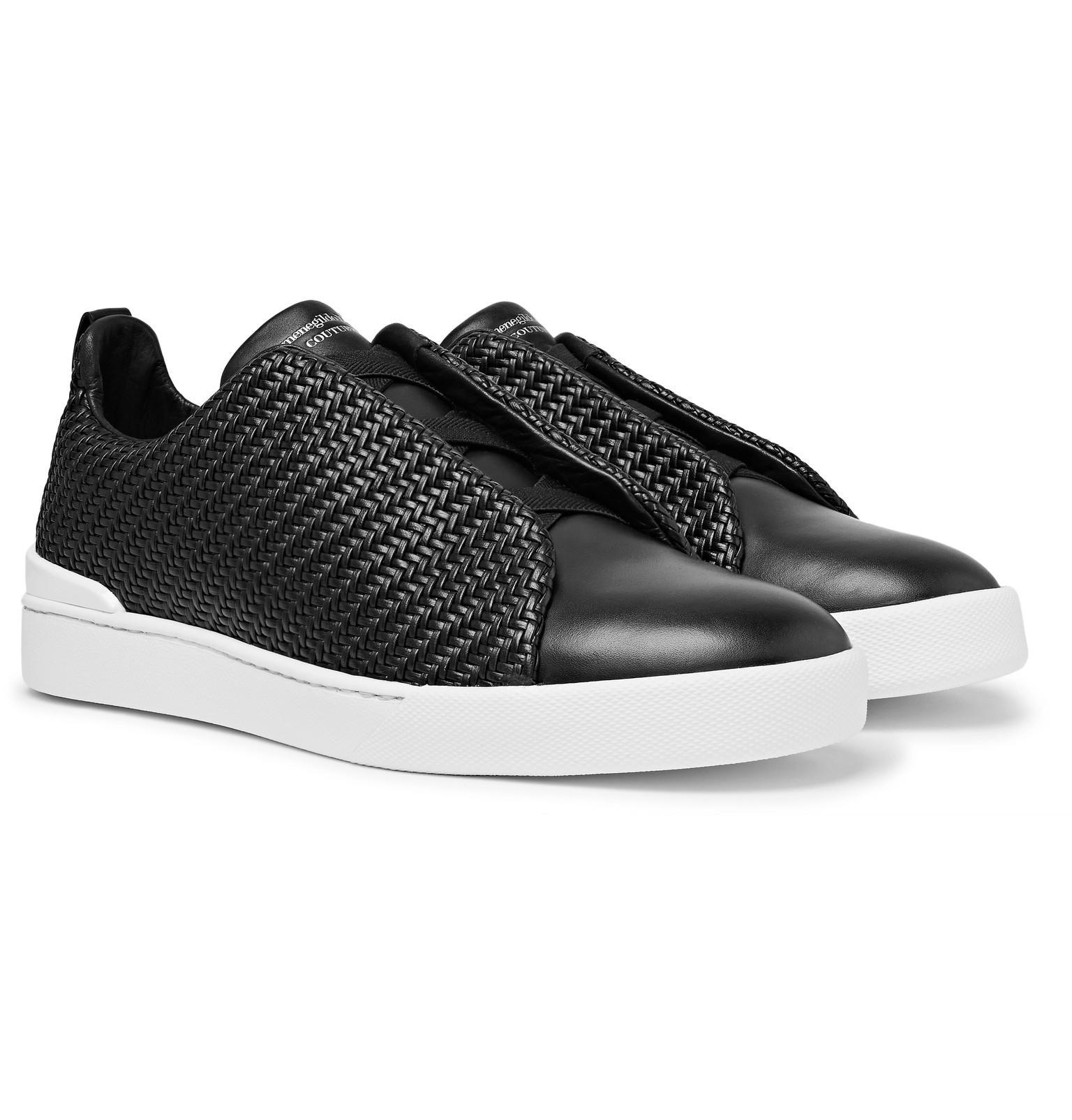 9c509e19 Ermenegildo Zegna Black Sneakers For Men On Sale for men