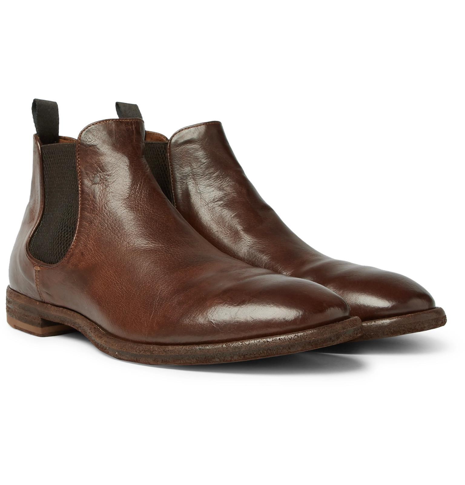 Officine Creative Black Princeton Chelsea Boots Ljy0Iwop