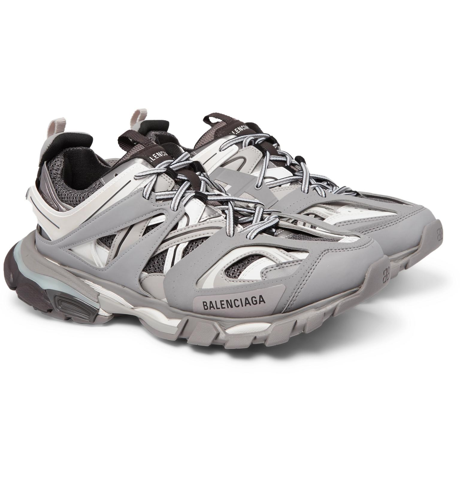 balenciaga track sneaker grey