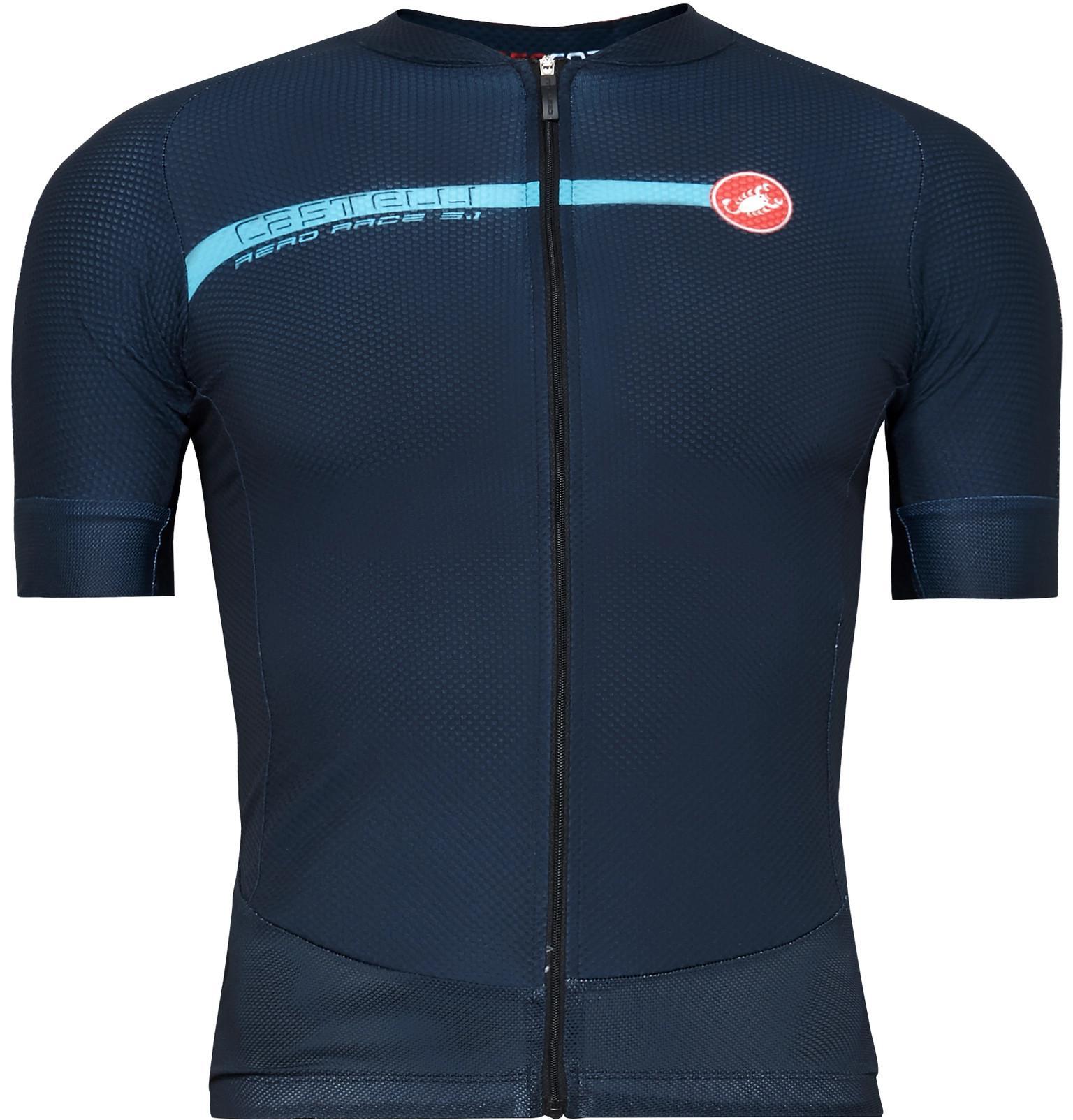 5e230c051 Lyst - Castelli Aero Race 5.1 Cycling Jersey in Blue for Men