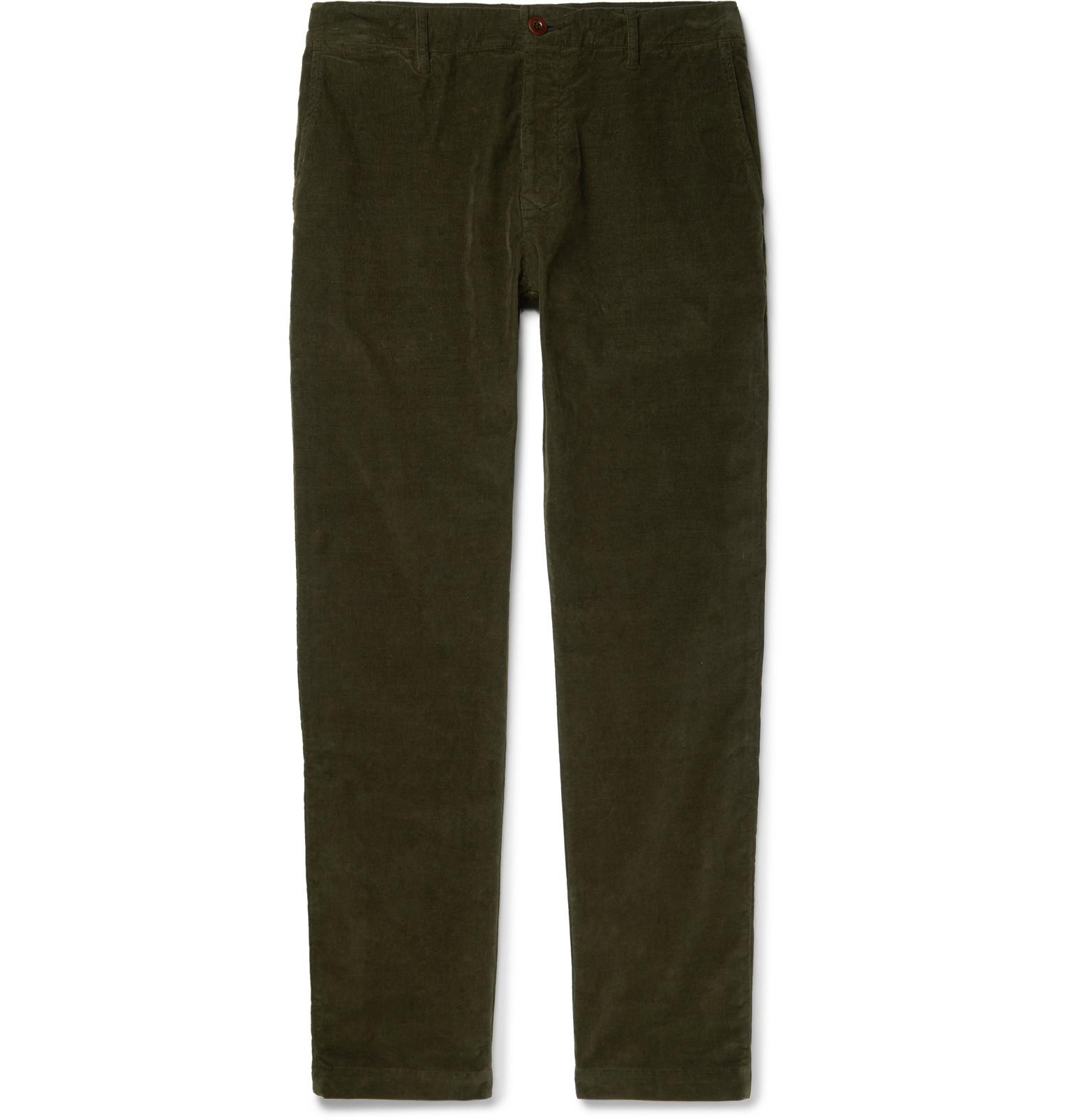 Stretch-cotton Corduroy Chinos Mr P. Pay With Paypal pkpcqMez85