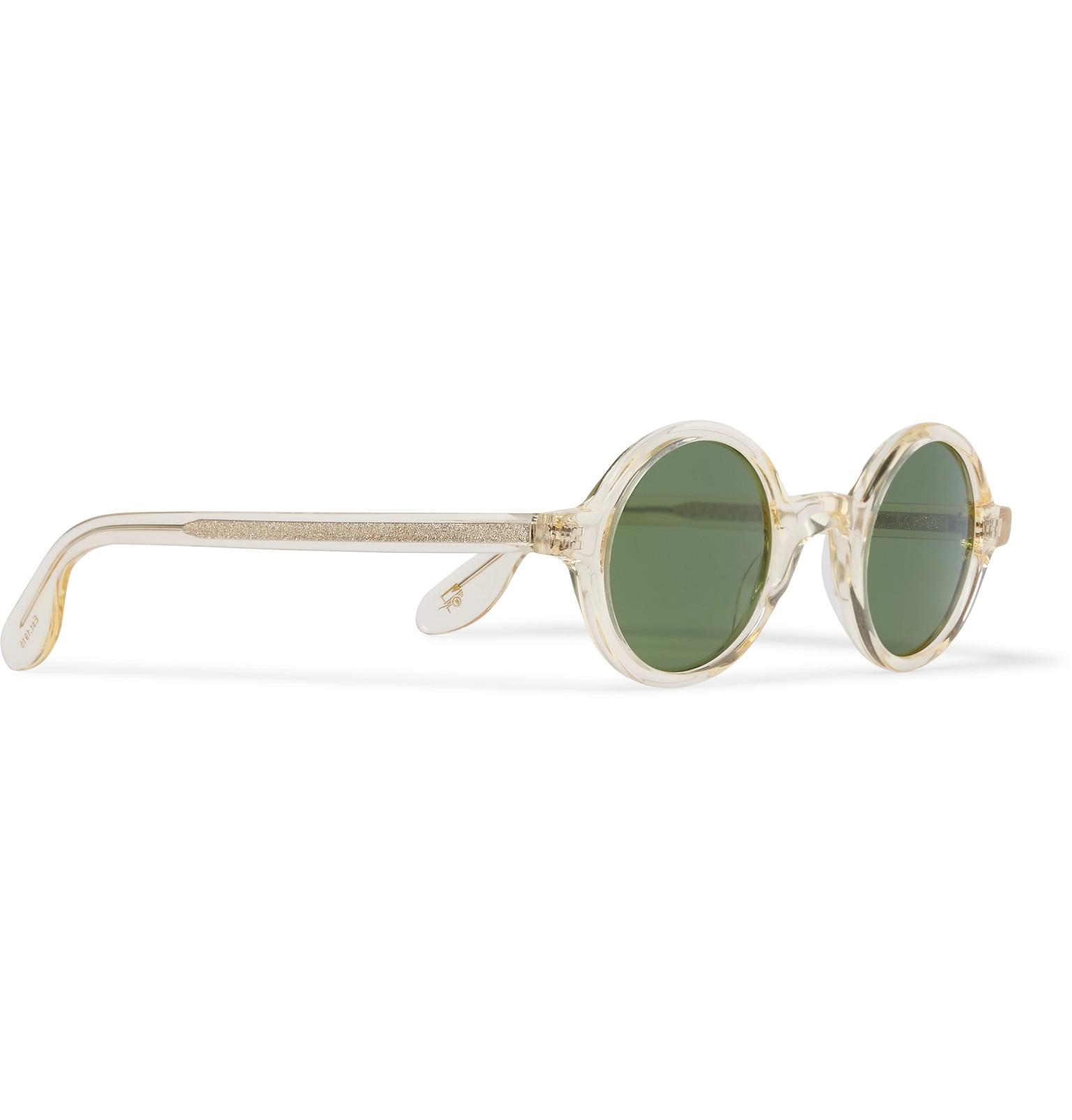 Moscot Pink For Men Sunglasses Frame Acetate In Lyst Round AqArg