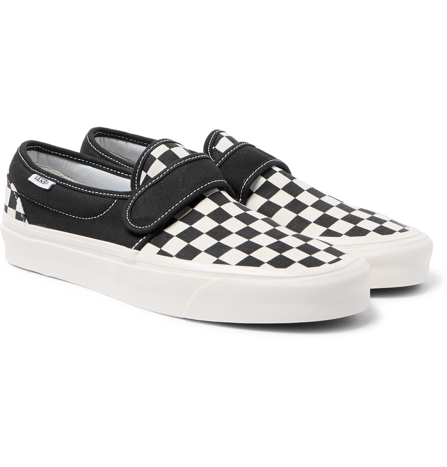 fa79db72fa Vans Slip-on 47 V Dx Anaheim Factory Pack Sneakers in Black for Men ...