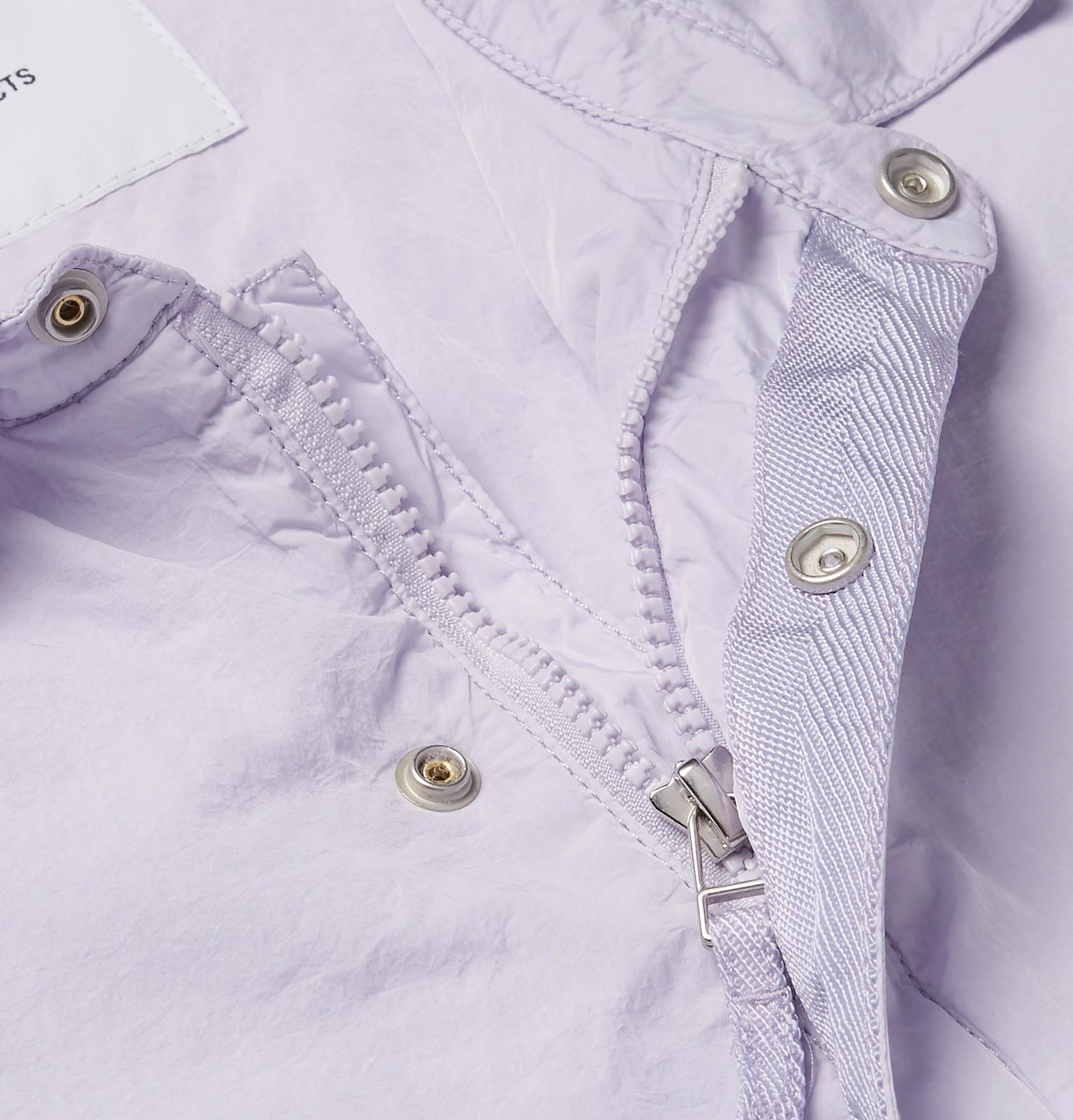 Norse Projects Cotton Svend Slim-fit Shell Coach Jacket in Lilac (Purple) for Men