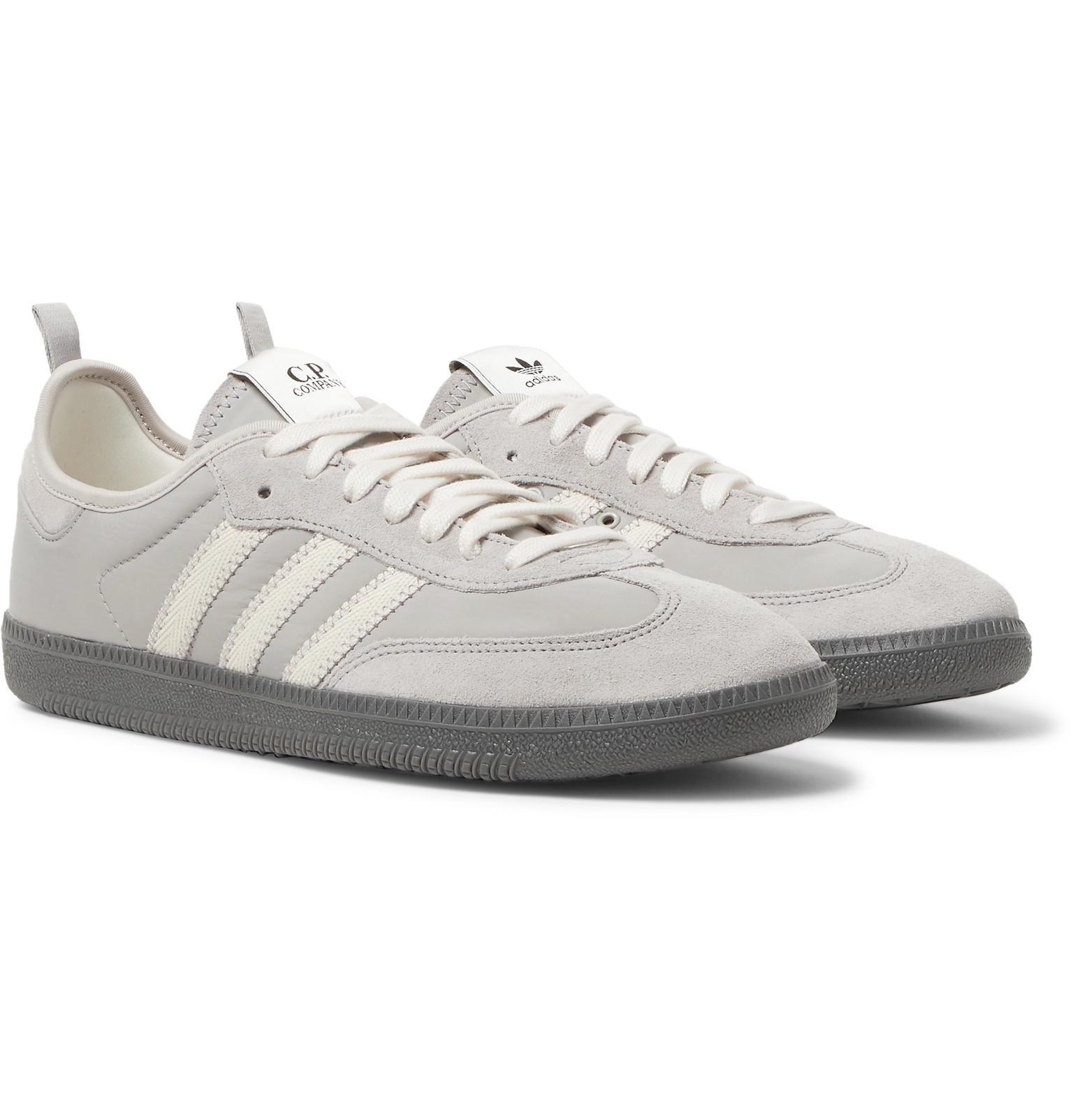 buy popular e3ecd f4420 adidas Originals. Men s Gray + C.p. Company Samba ...