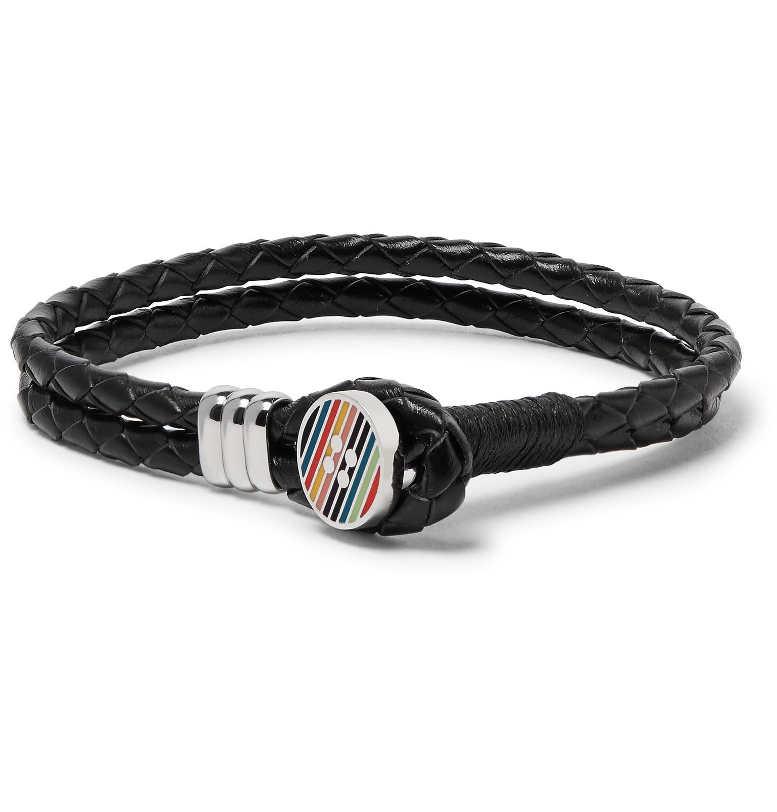 Paul Smith two-tone bracelet - Black uIAGoly