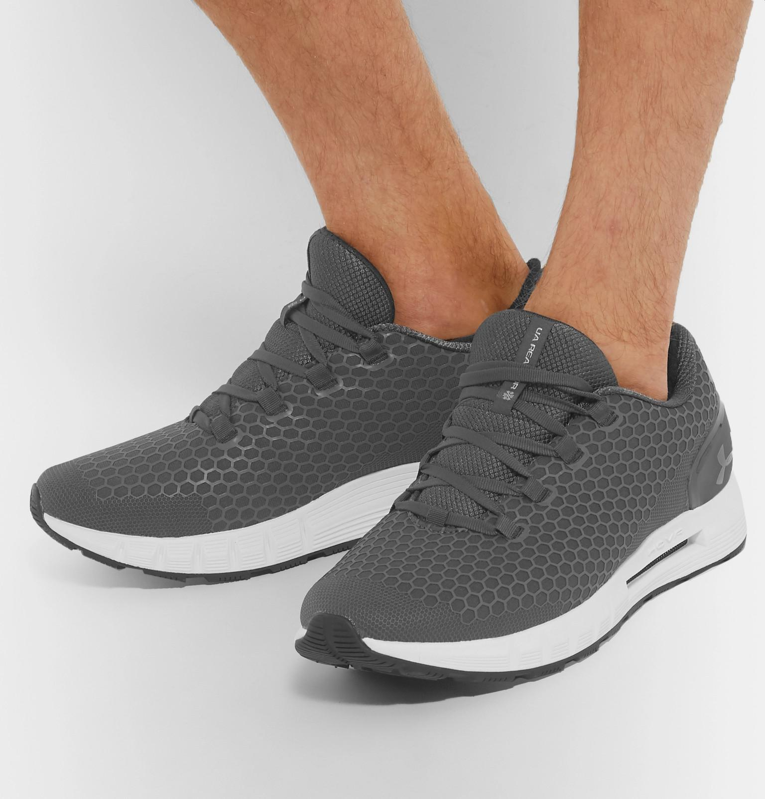 new style 6a94c 99d89 Under Armour Rubber Hovr Cg Reactor Nc Running Sneakers in ...