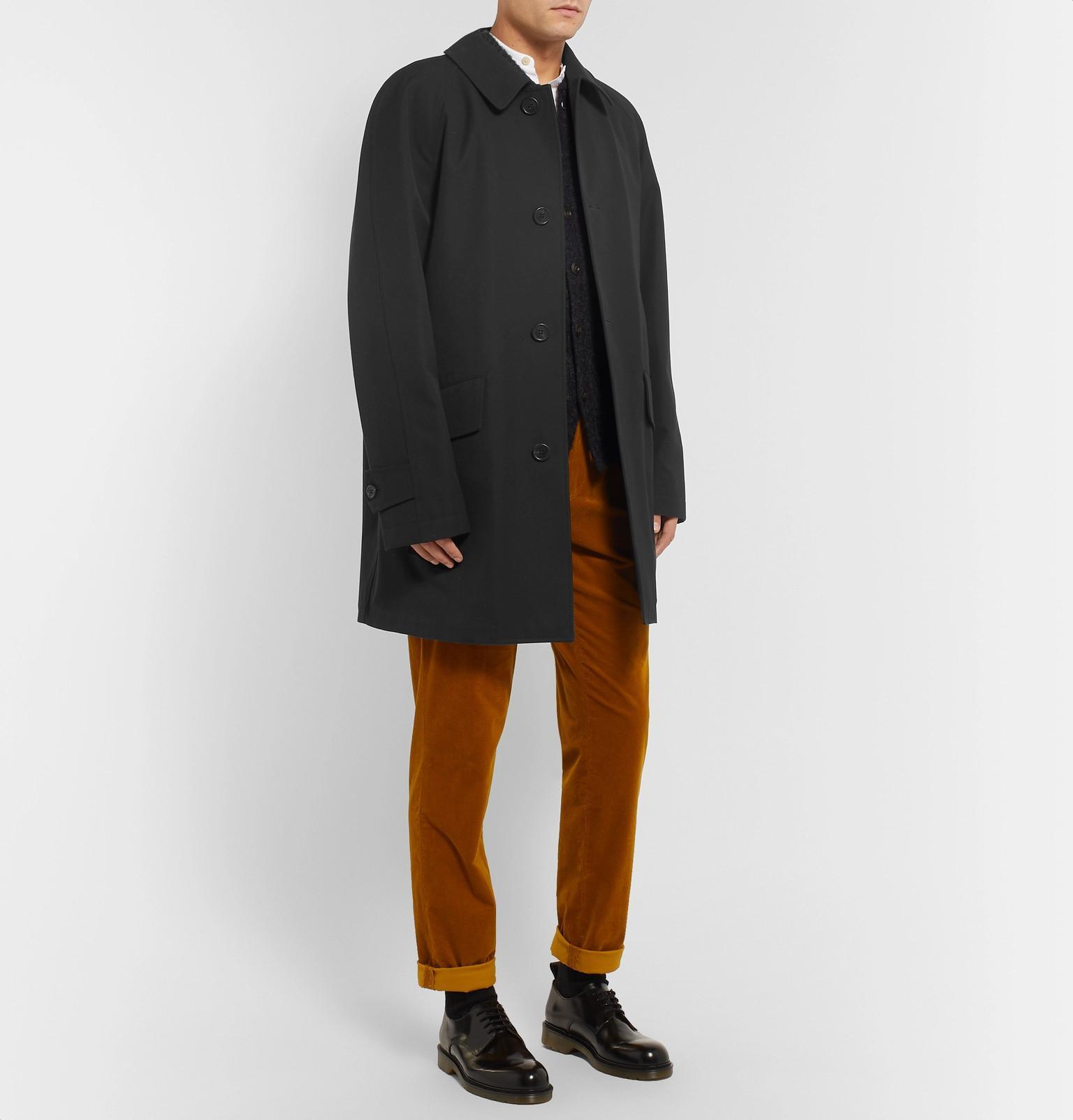 Cotton Margaret Gabardine Raincoat For Lyst View Howell Men Fullscreen Wool Blend Black And ZrIY6rq