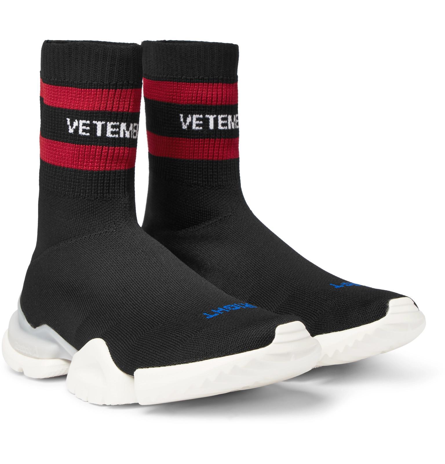 Isabel Marant Black Reebok Edition Sock Pump High-Top Sneakers ZZnKK