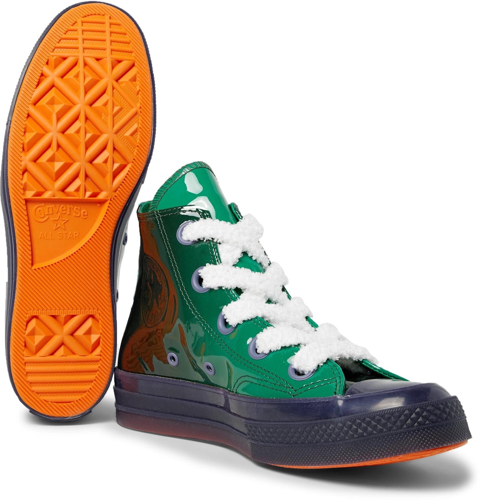 ac2fd62a02d Converse - Green Jw Anderson 1970s Chuck Taylor All Star Dégradé  Patent-leather High-. View fullscreen