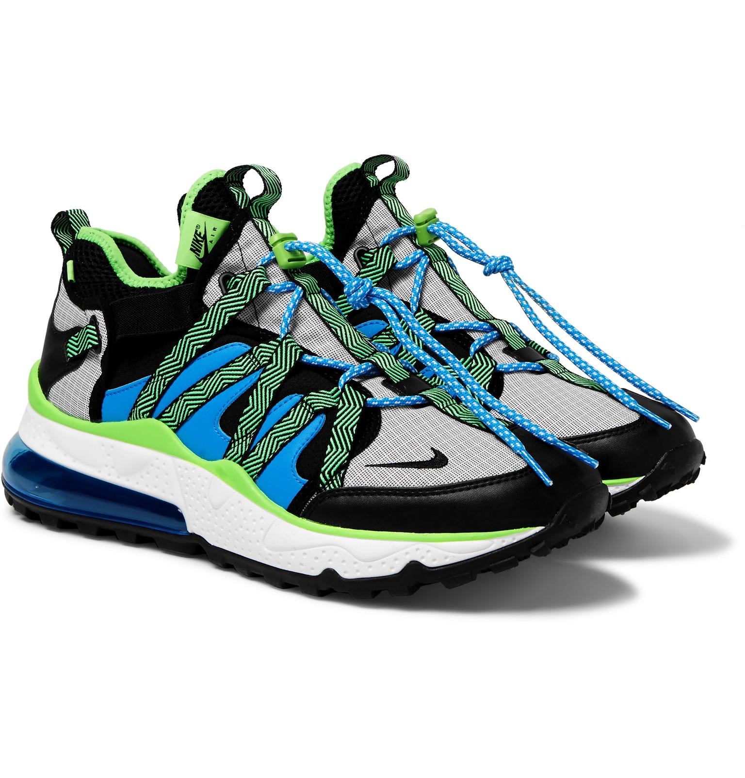 215514e9afc Nike Air Max 270 Bowfin Mesh And Nylon Sneakers in Blue for Men ...