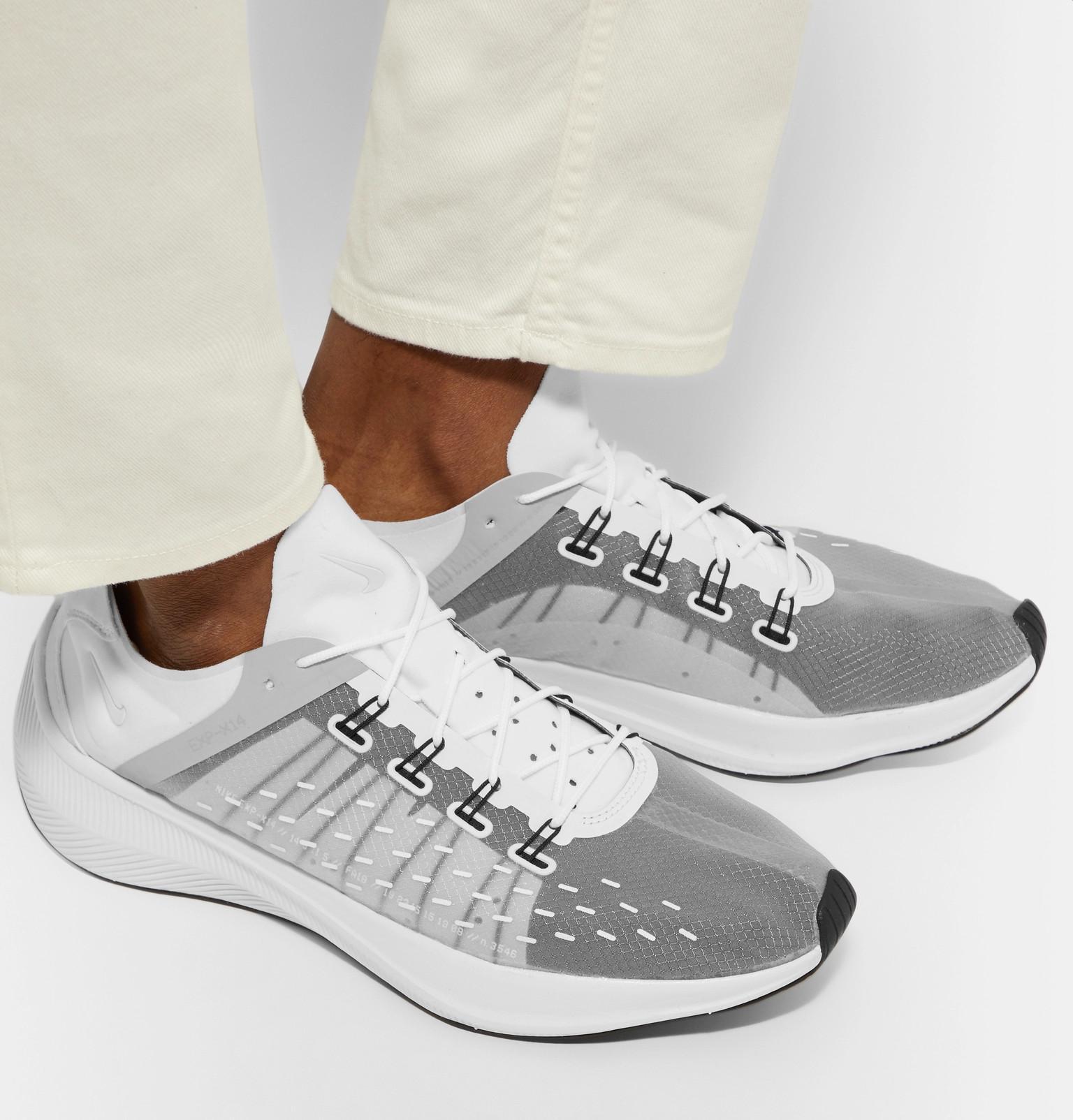 cinturón jurado Analgésico  Nike Denim Future Fast Racer Exp-x14 Sneakers in White for Men - Lyst