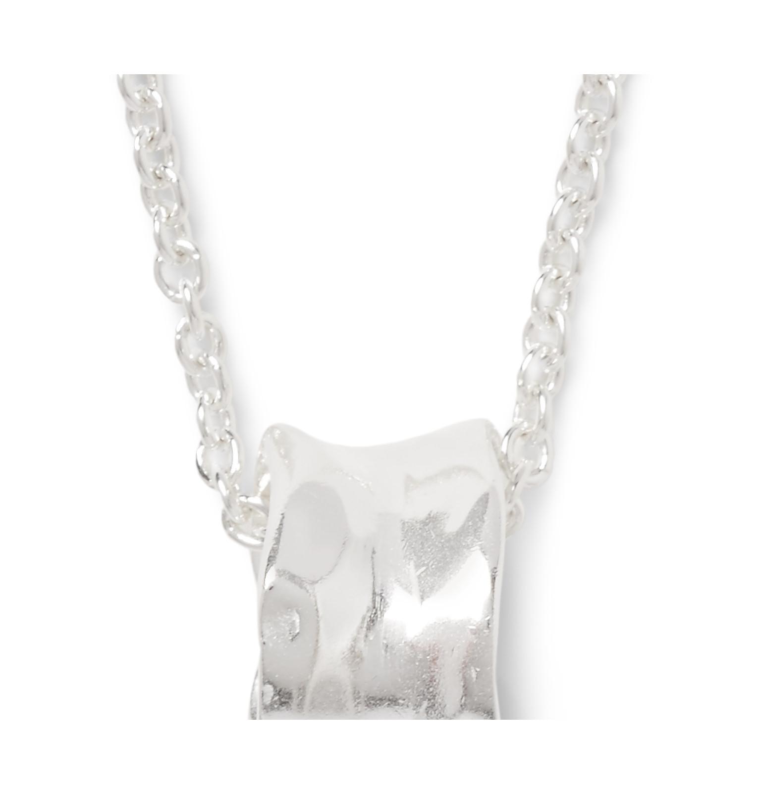Maison Margiela Silver Necklace in Metallic for Men
