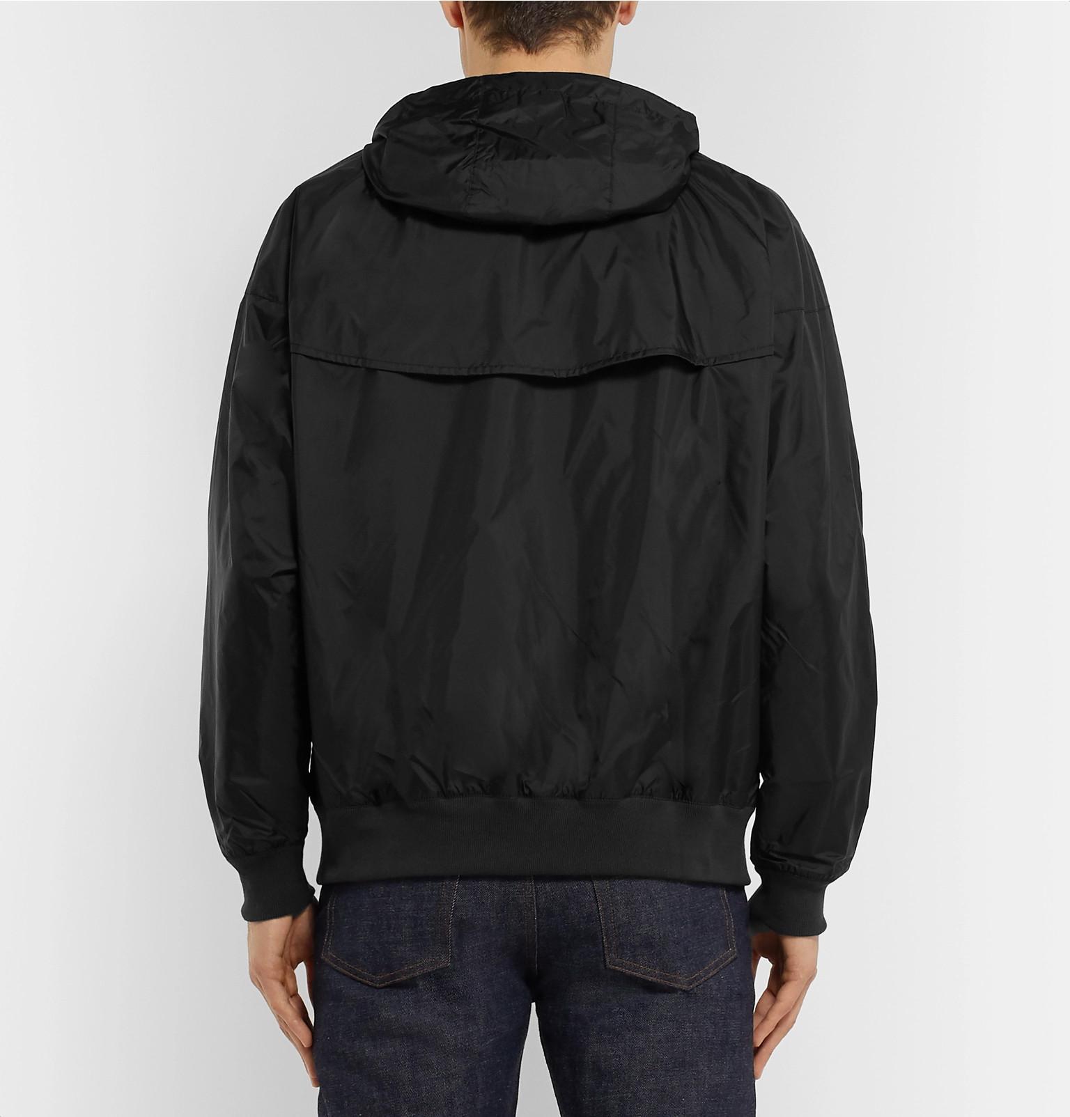 dfe635c4ed20 Nike - Black Windrunner Shell Hooded Jacket for Men - Lyst. View fullscreen