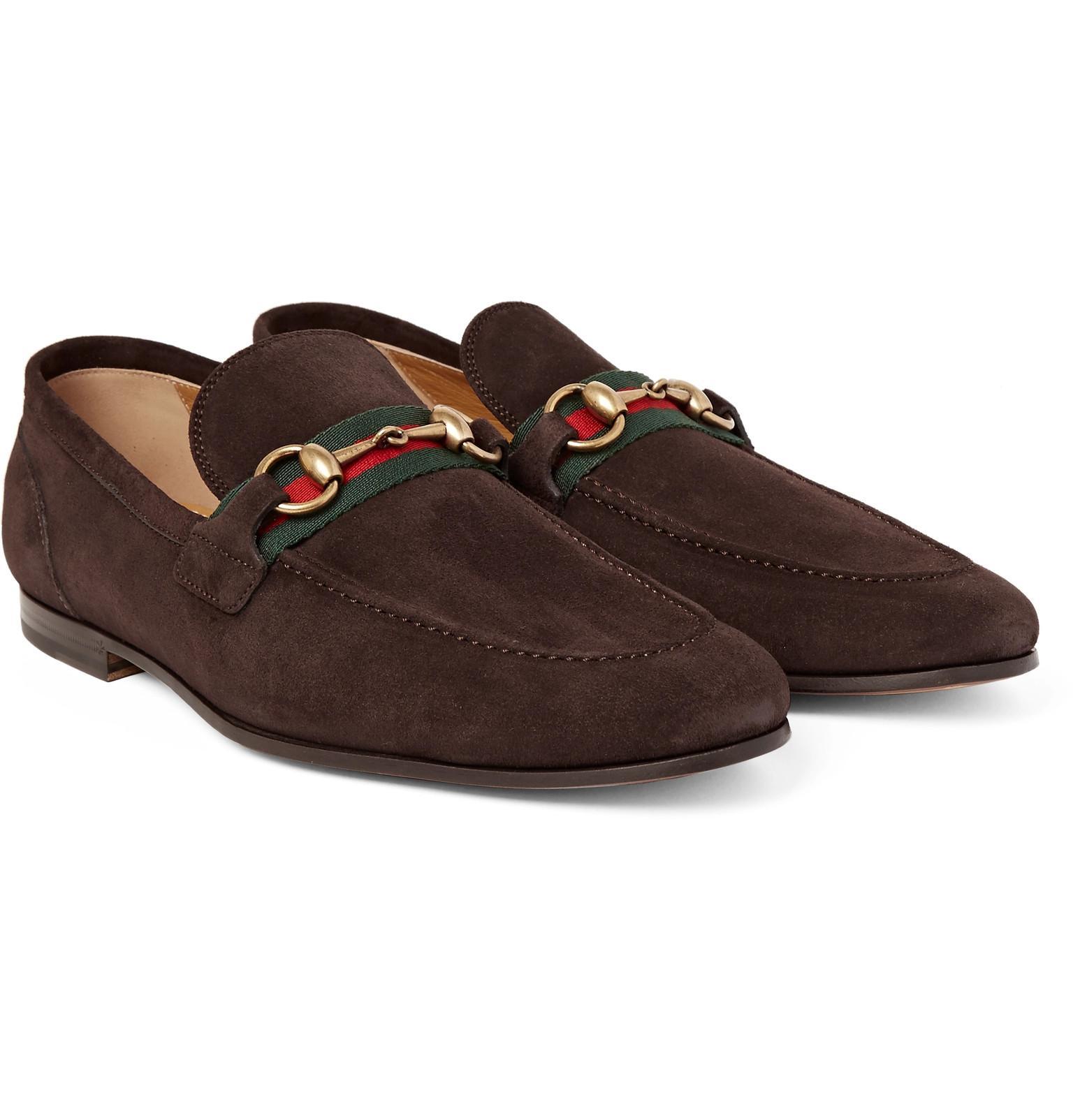6676f28ce4b Mens Gucci Brown Horsebit Loafers