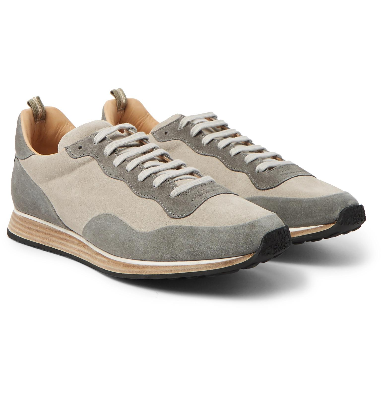 Keino Two-tone Suede Sneakers Officine Creative 3N5xK