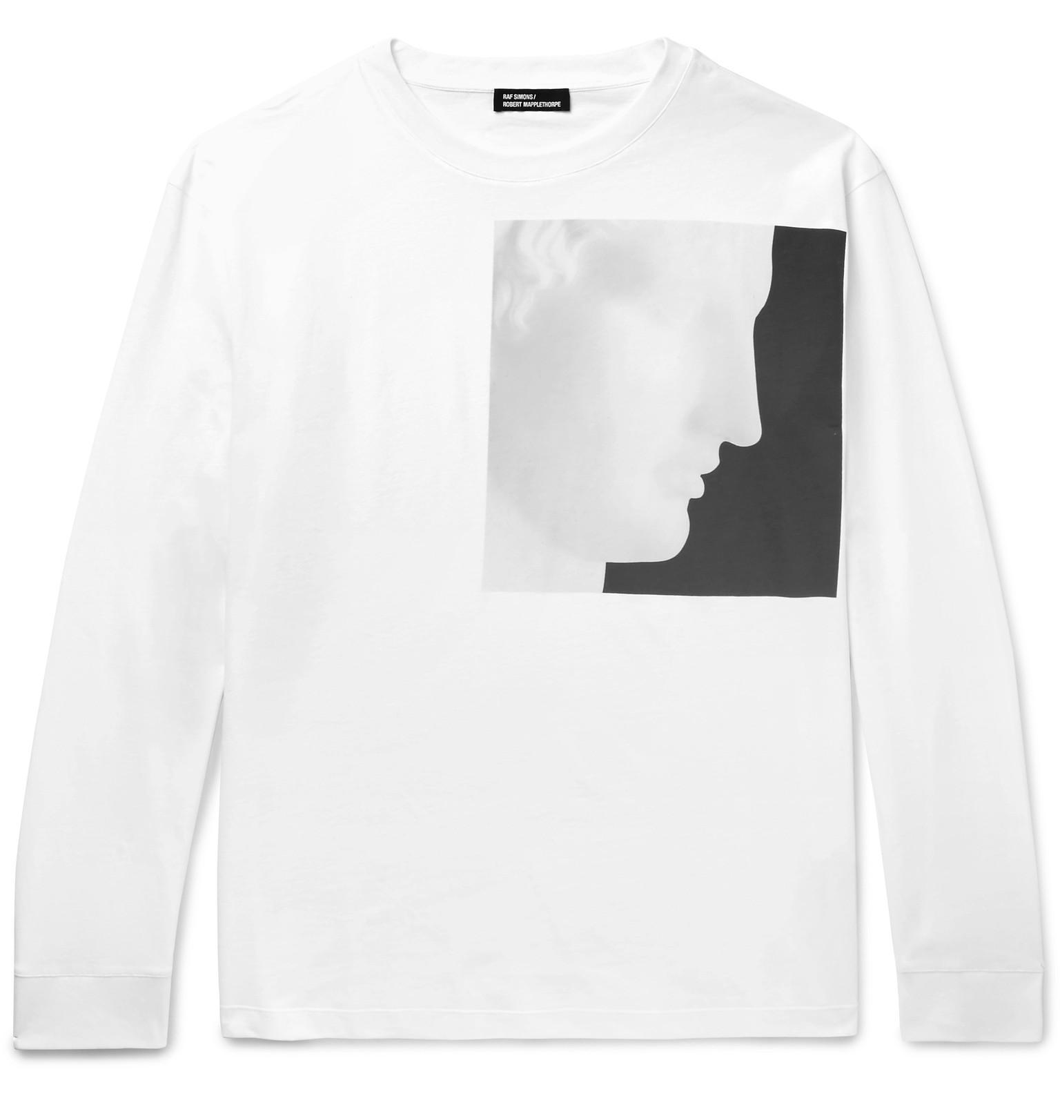 Raf simons robert mapplethorpe foundation printed for Raf simons robert mapplethorpe shirt