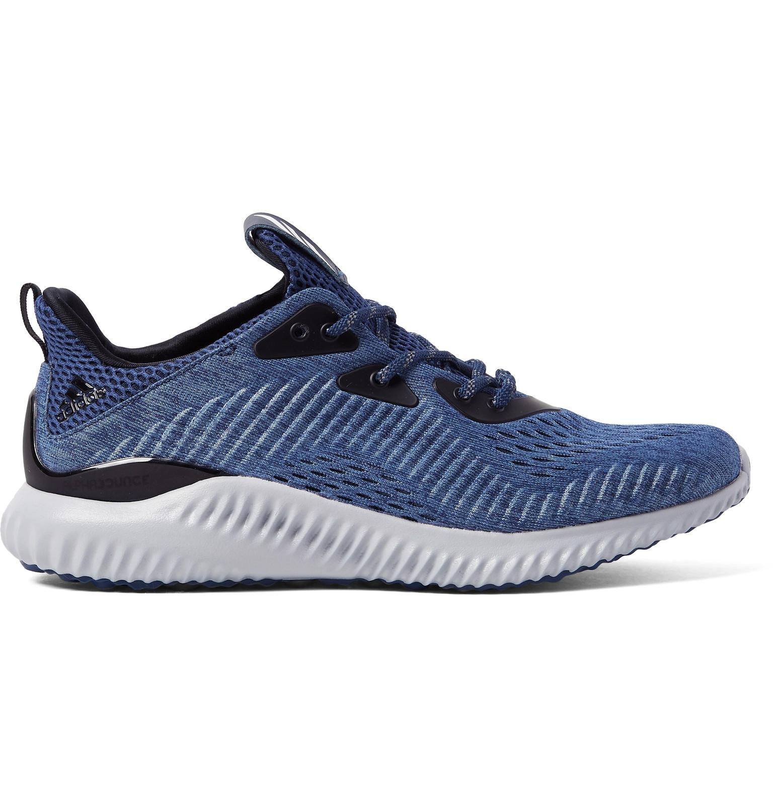 Reebok Blue Mesh Sport Shoes