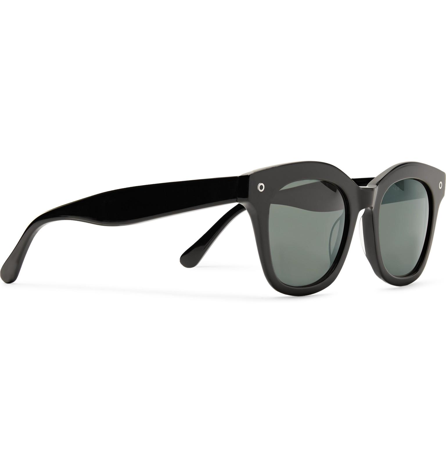 John Elliott D-frame Acetate Sunglasses in Black for Men