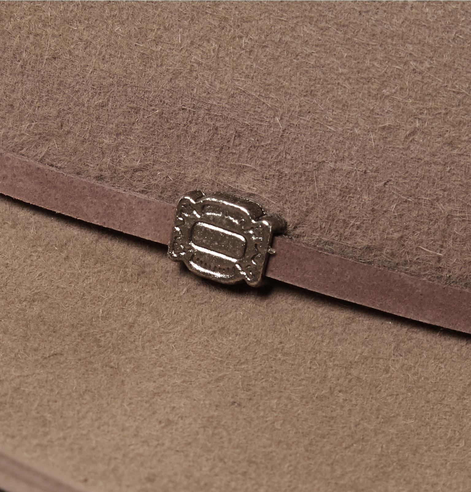 Lyst - Kingsman Stetson Tequila s Statesman Leather-trimmed Felt Hat ... ff9d8997524