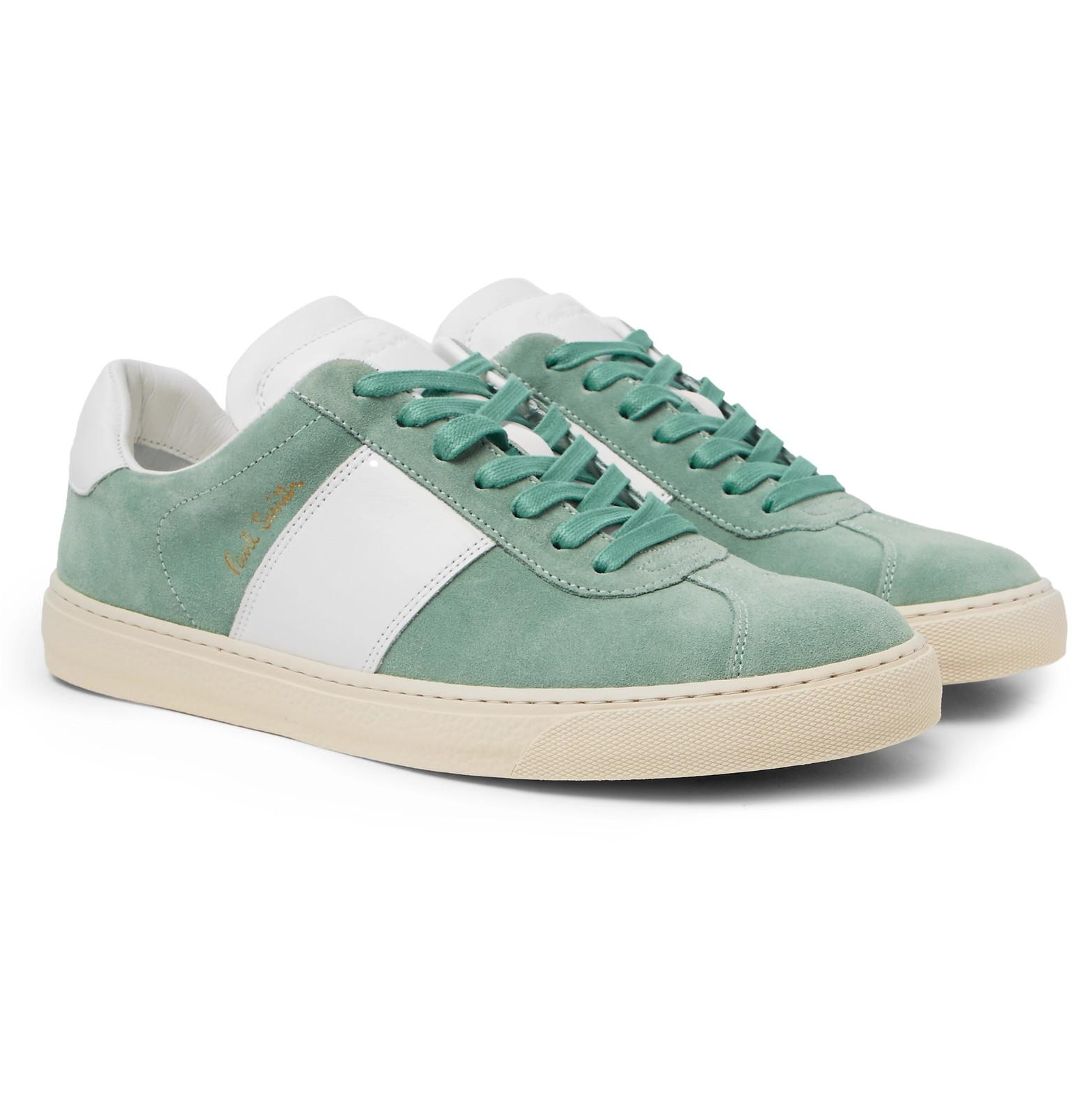 Levon Suede And Leather Sneakers Paul Smith jQMNxy