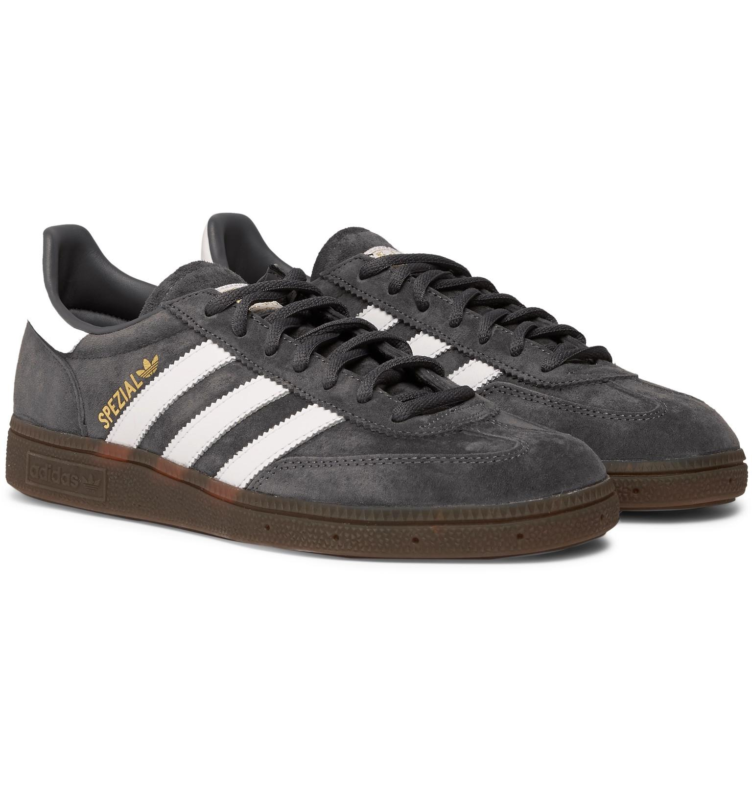 In Handball Sneakers Adidas Trimmed Spezial Leather Suede Originals 34A5jLR