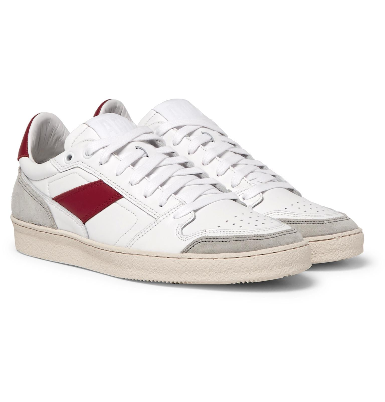 Leather And Suede Sneakers Ami lLKj6lV