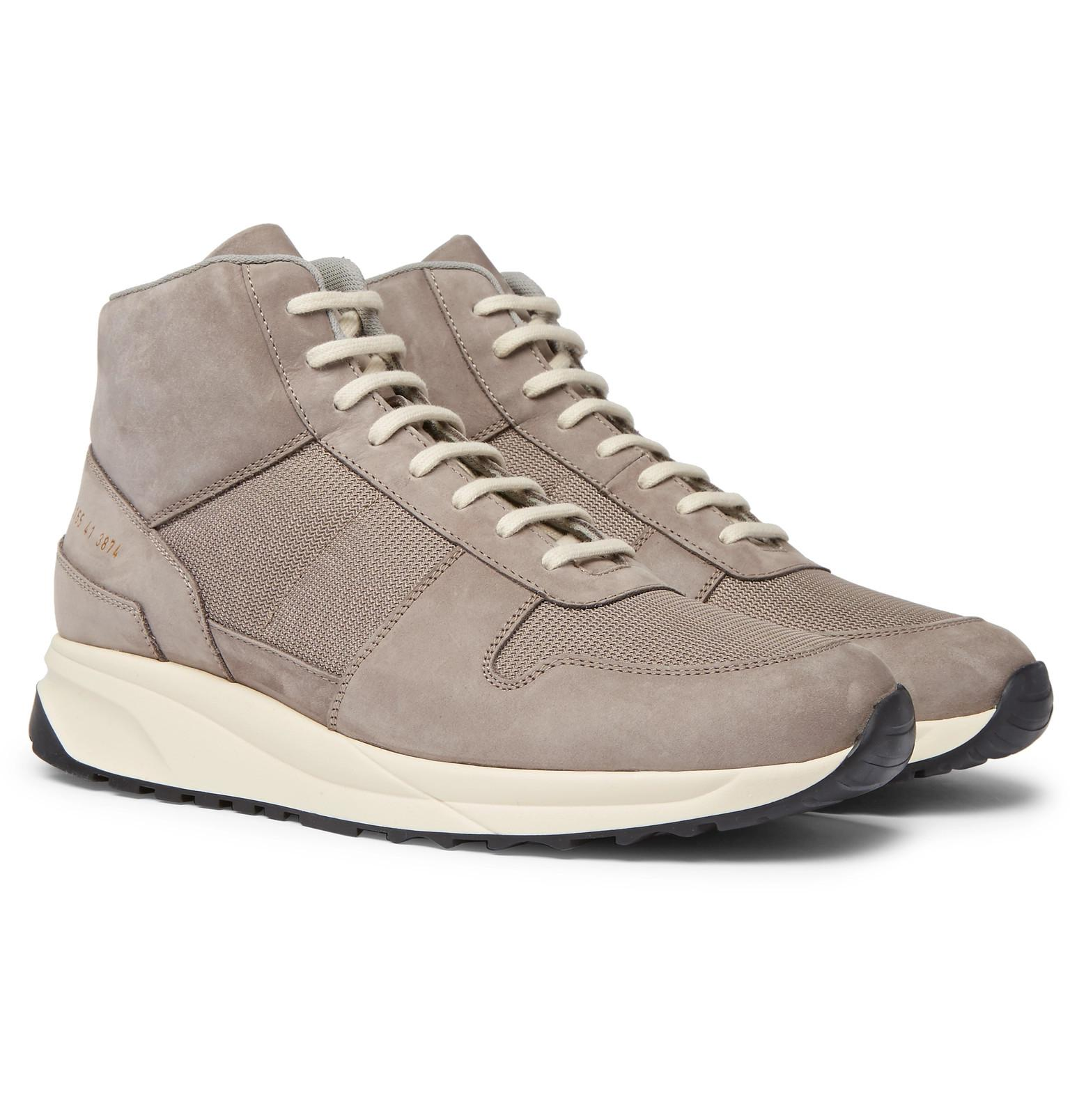 Common Projects Leather Track Vintage